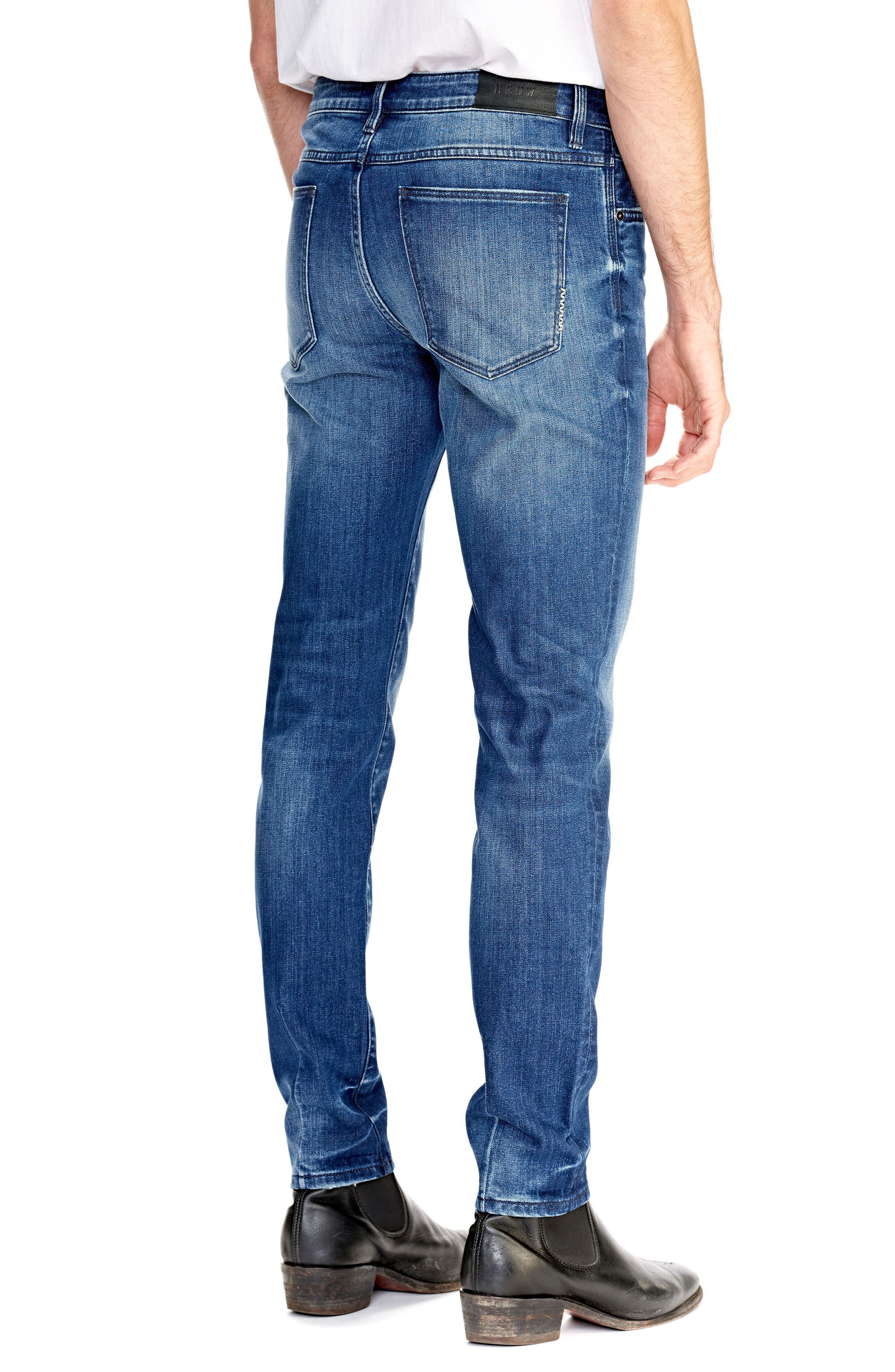 Iggy Skinny Fit Jeans,                             Alternate thumbnail 2, color,                             ABNEY PARK