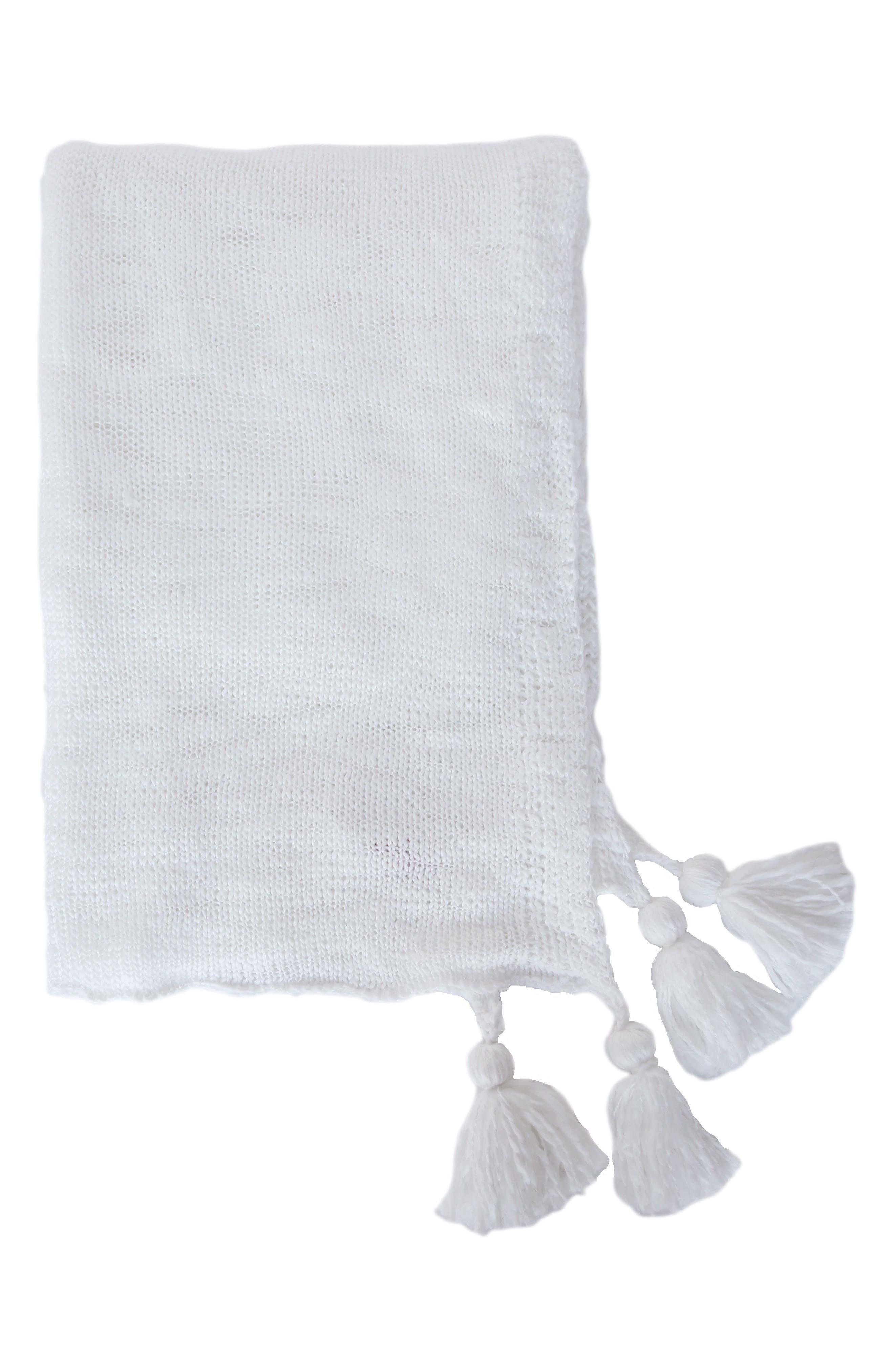 Helena Throw,                         Main,                         color, WHITE