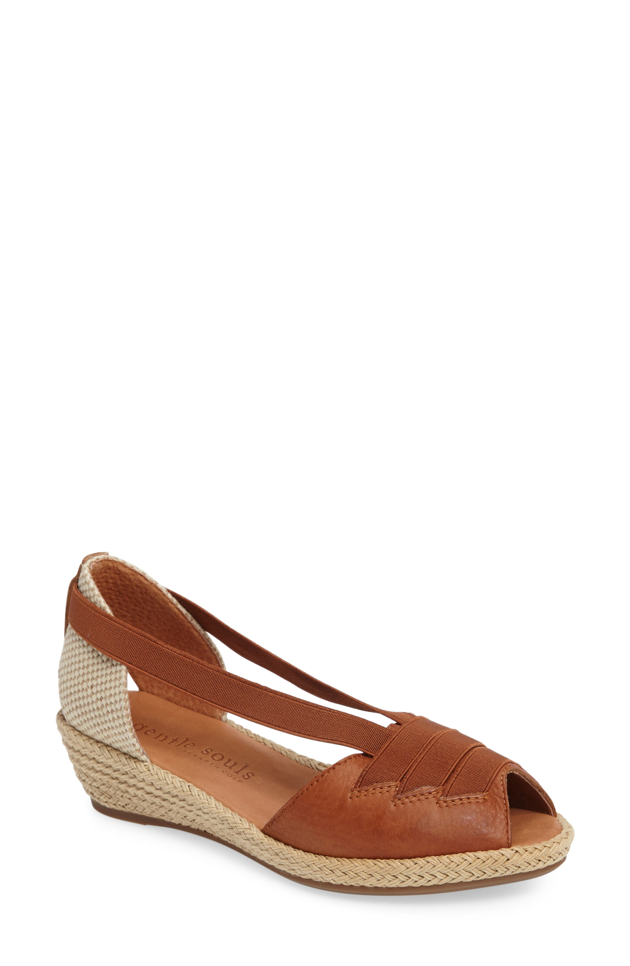 by Kenneth Cole Luci Wedge Sandal,                             Main thumbnail 4, color,
