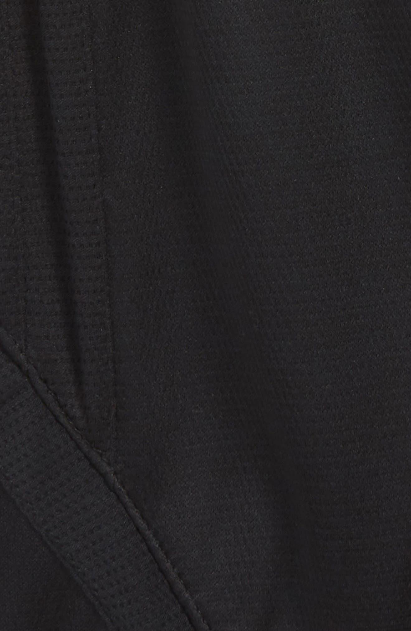 Jordan Rise Basketball Shorts,                             Alternate thumbnail 2, color,                             BLACK