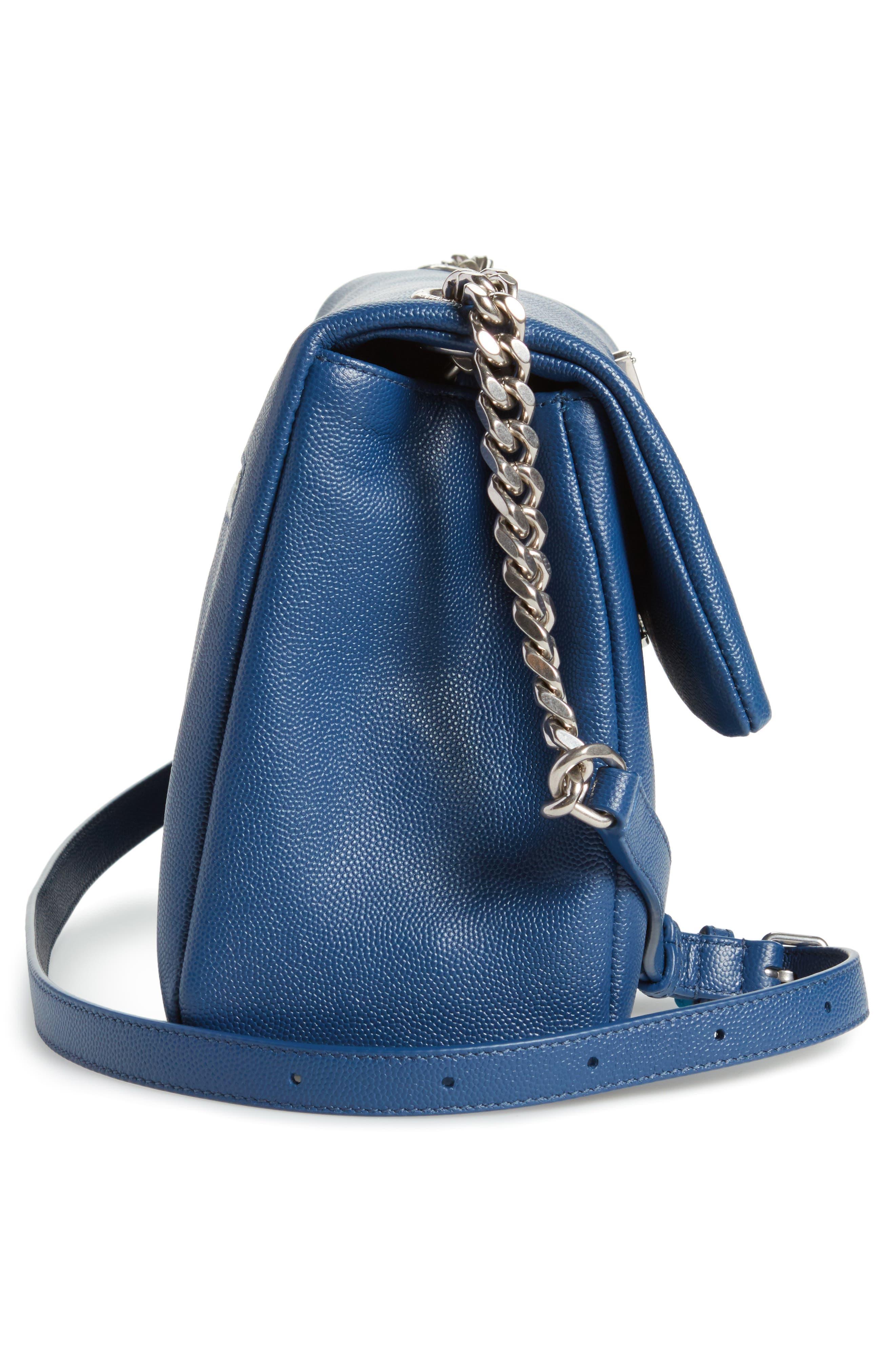 Medium West Hollywood Leather Shoulder Bag,                             Alternate thumbnail 14, color,