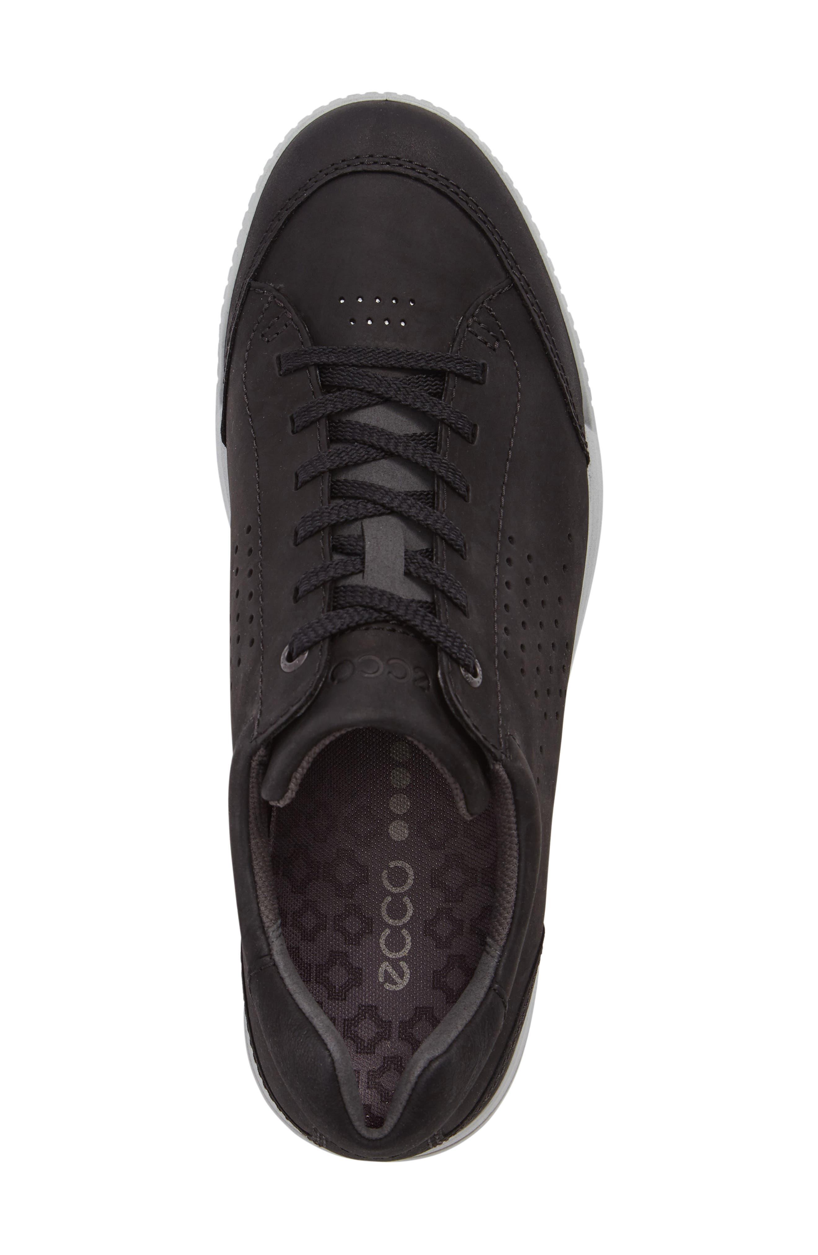 Street Retro HM Golf Shoe,                             Alternate thumbnail 5, color,                             BLACK