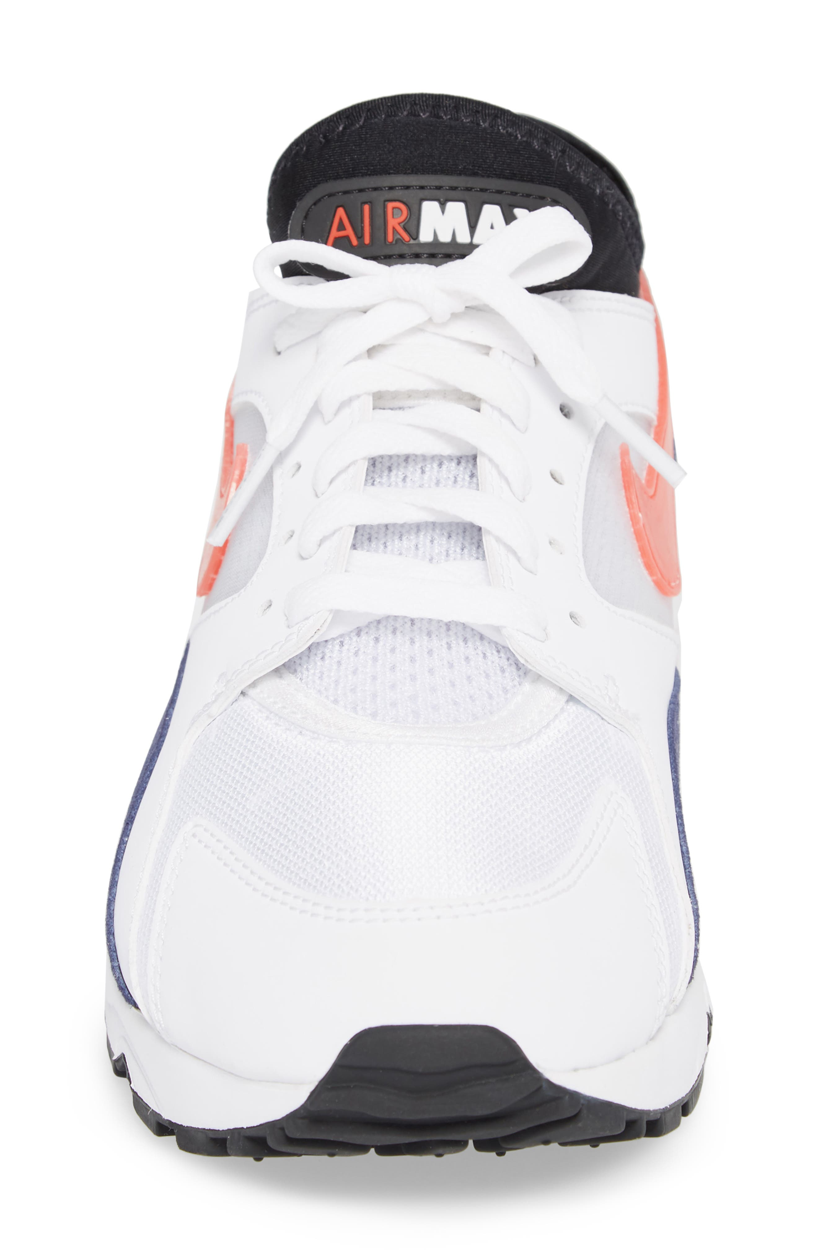 NIKE,                             Air Max 93 Sneaker,                             Alternate thumbnail 4, color,                             102