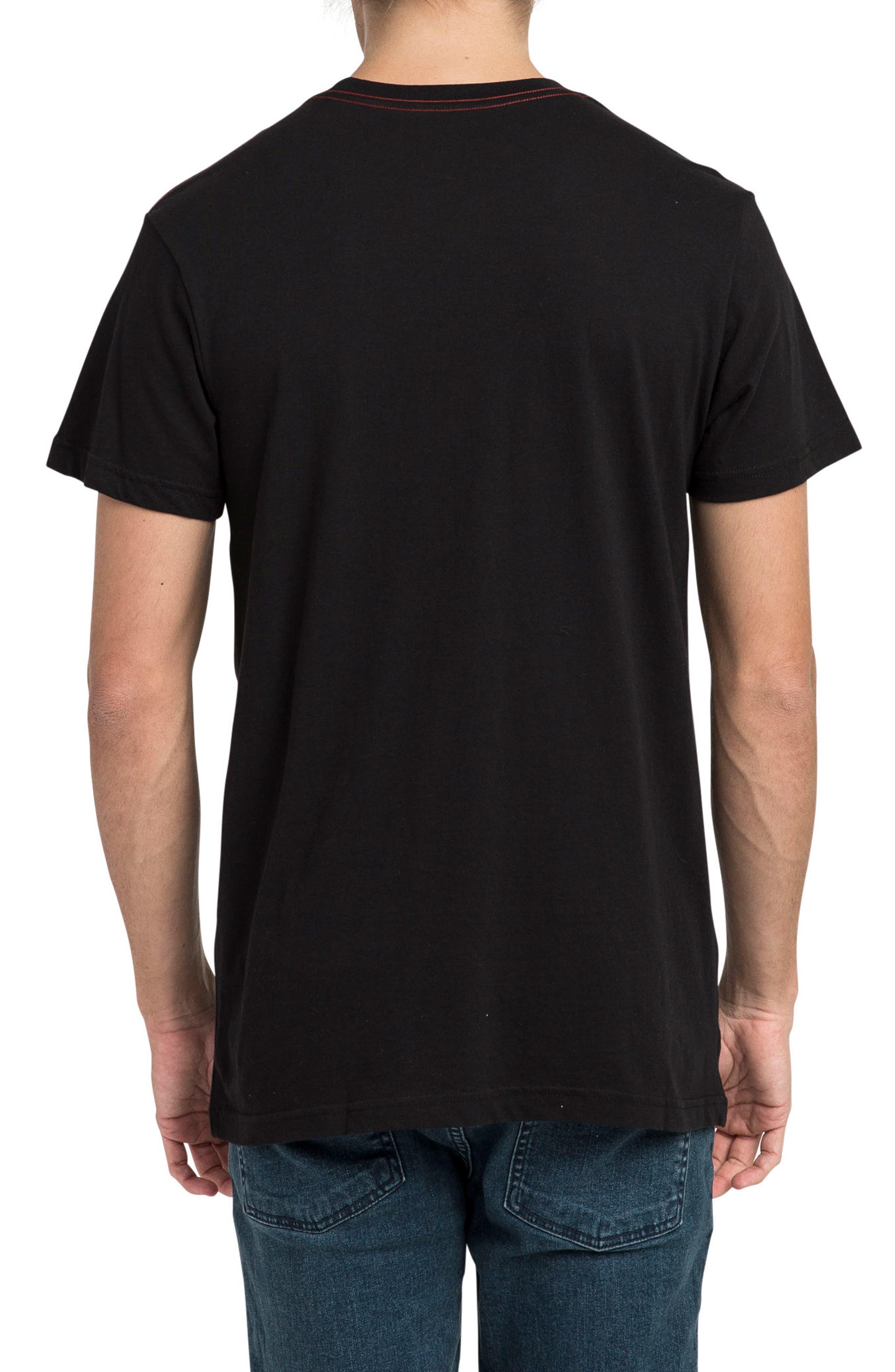 Scribe Logo T-Shirt,                             Alternate thumbnail 2, color,                             001