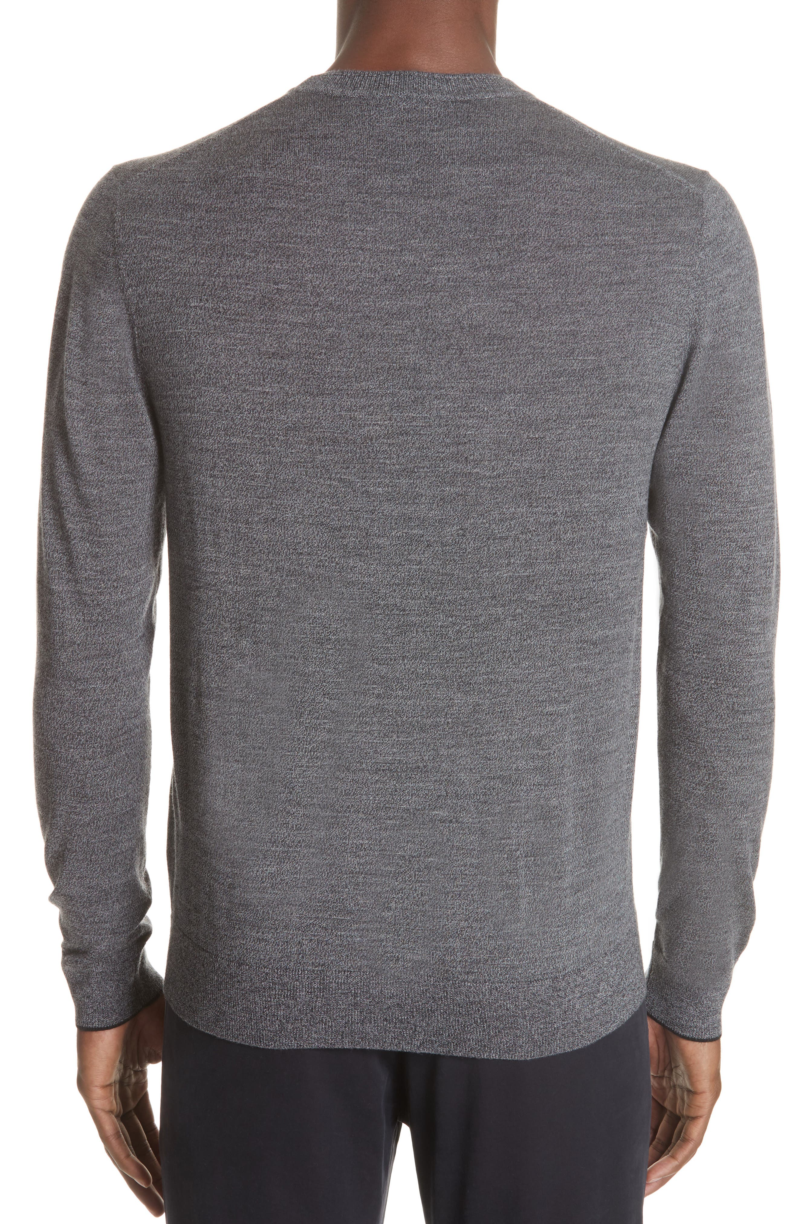 Merino Wool Sweater,                             Alternate thumbnail 2, color,                             028