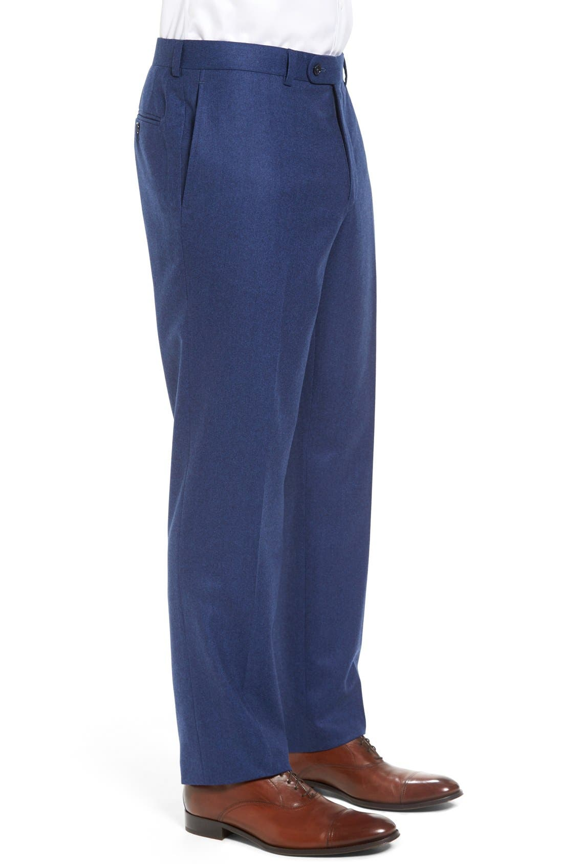 'Ryan' Classic Fit Trousers,                             Alternate thumbnail 12, color,
