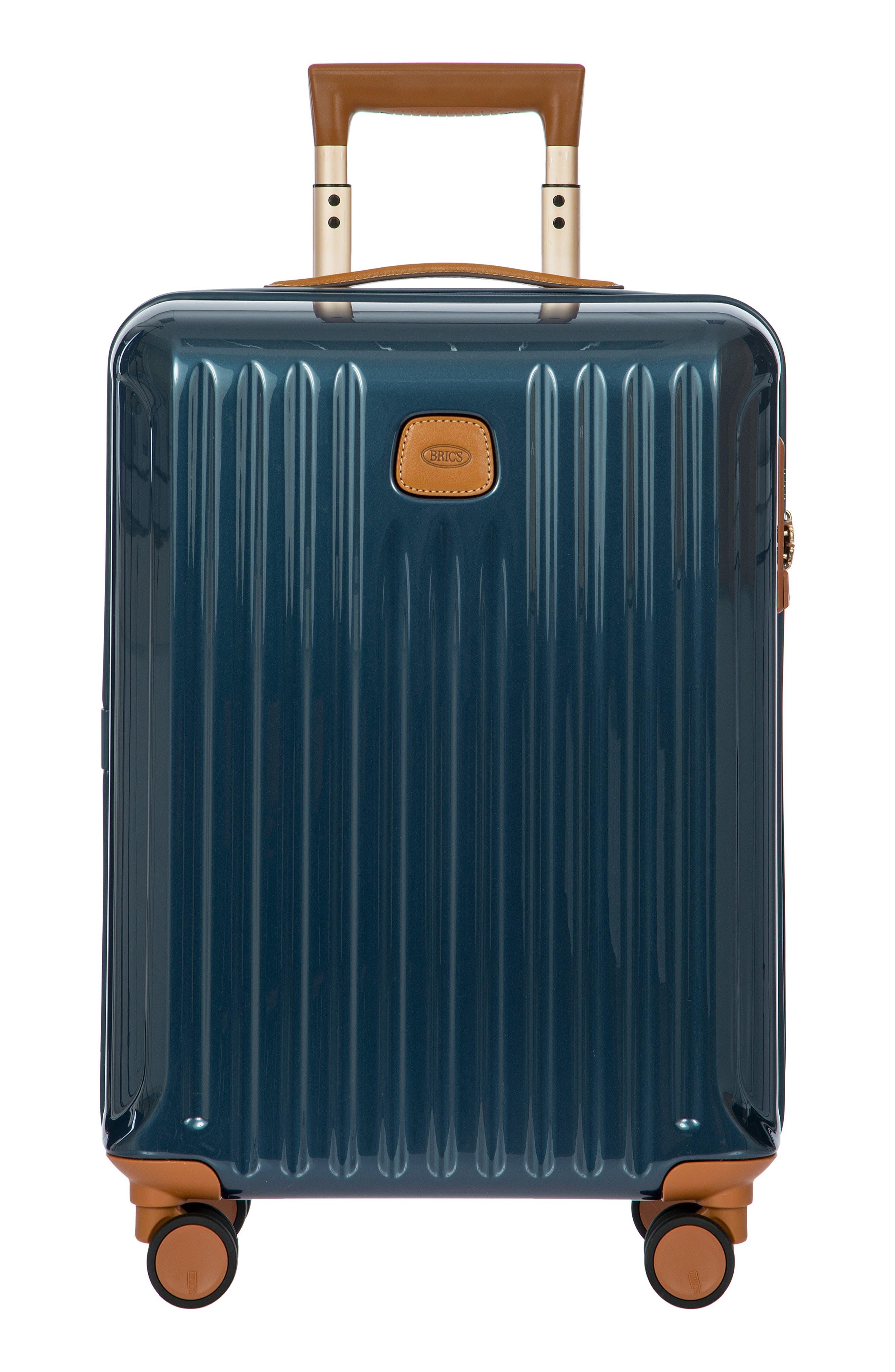 Capri 21-Inch Wheeled Carry-On - Blue in Matte Blue