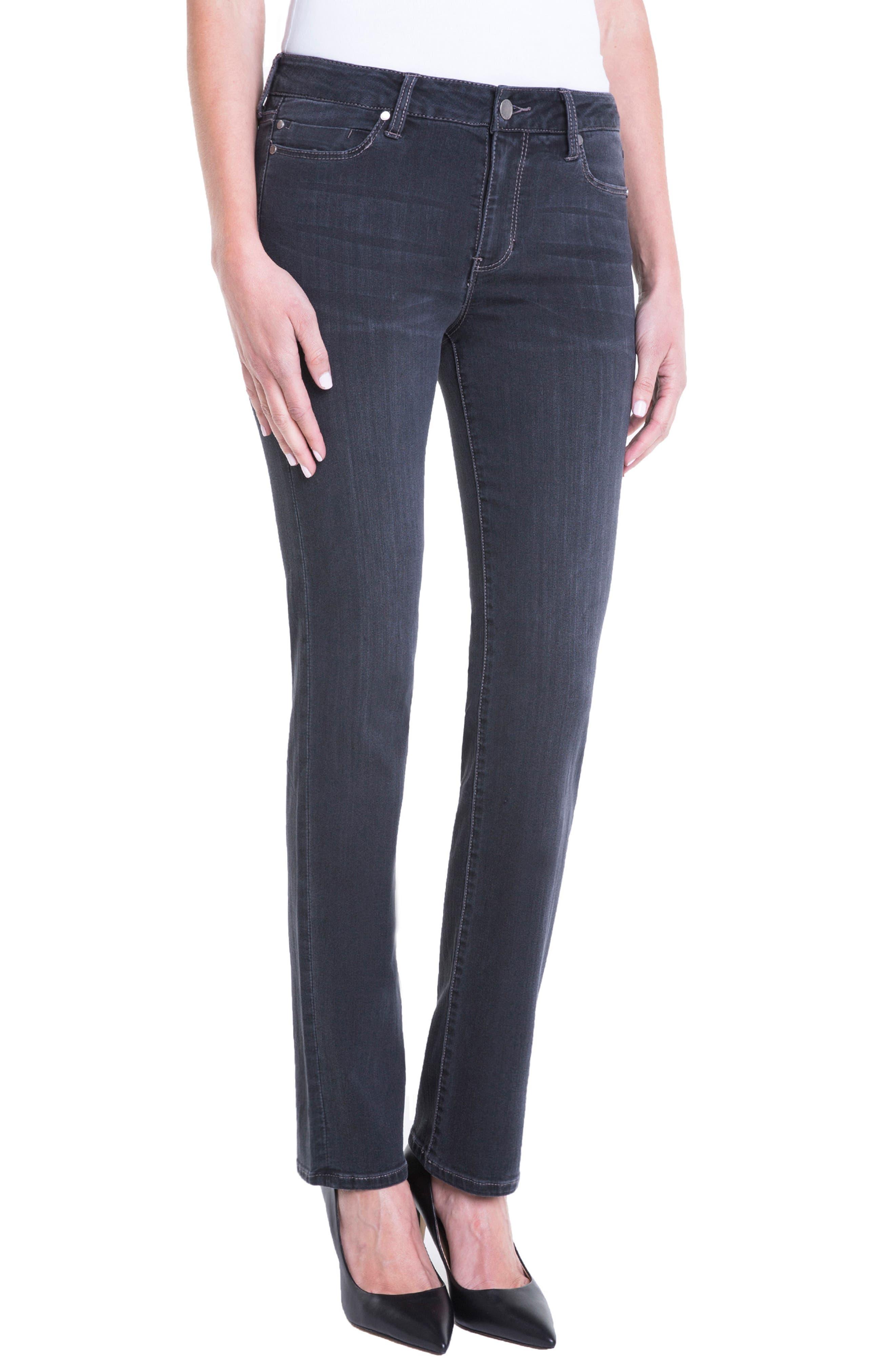 Sadie Straight Jeans,                             Alternate thumbnail 3, color,