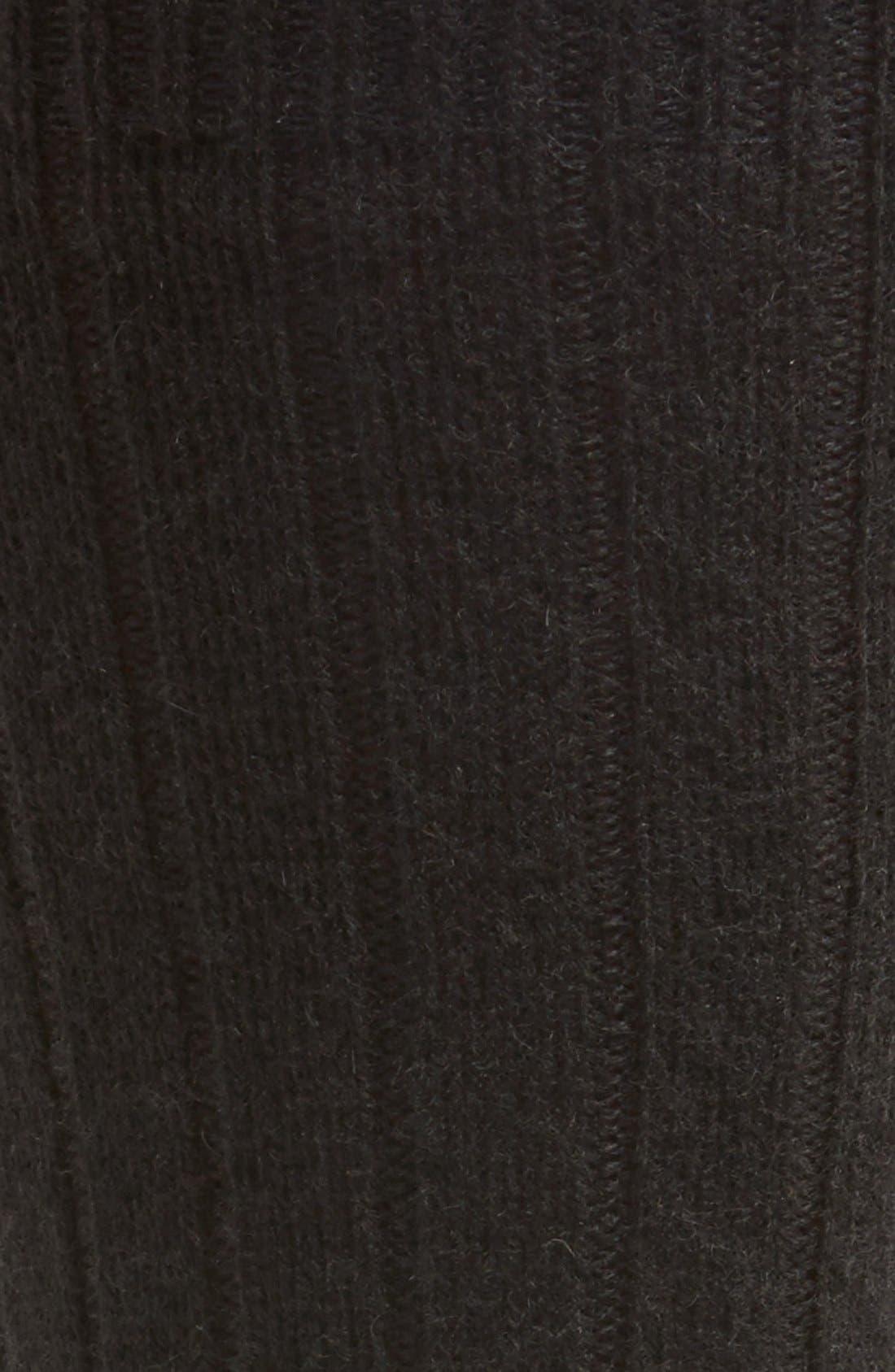 'Waddington' Cashmere Blend Mid Calf Socks,                             Alternate thumbnail 14, color,