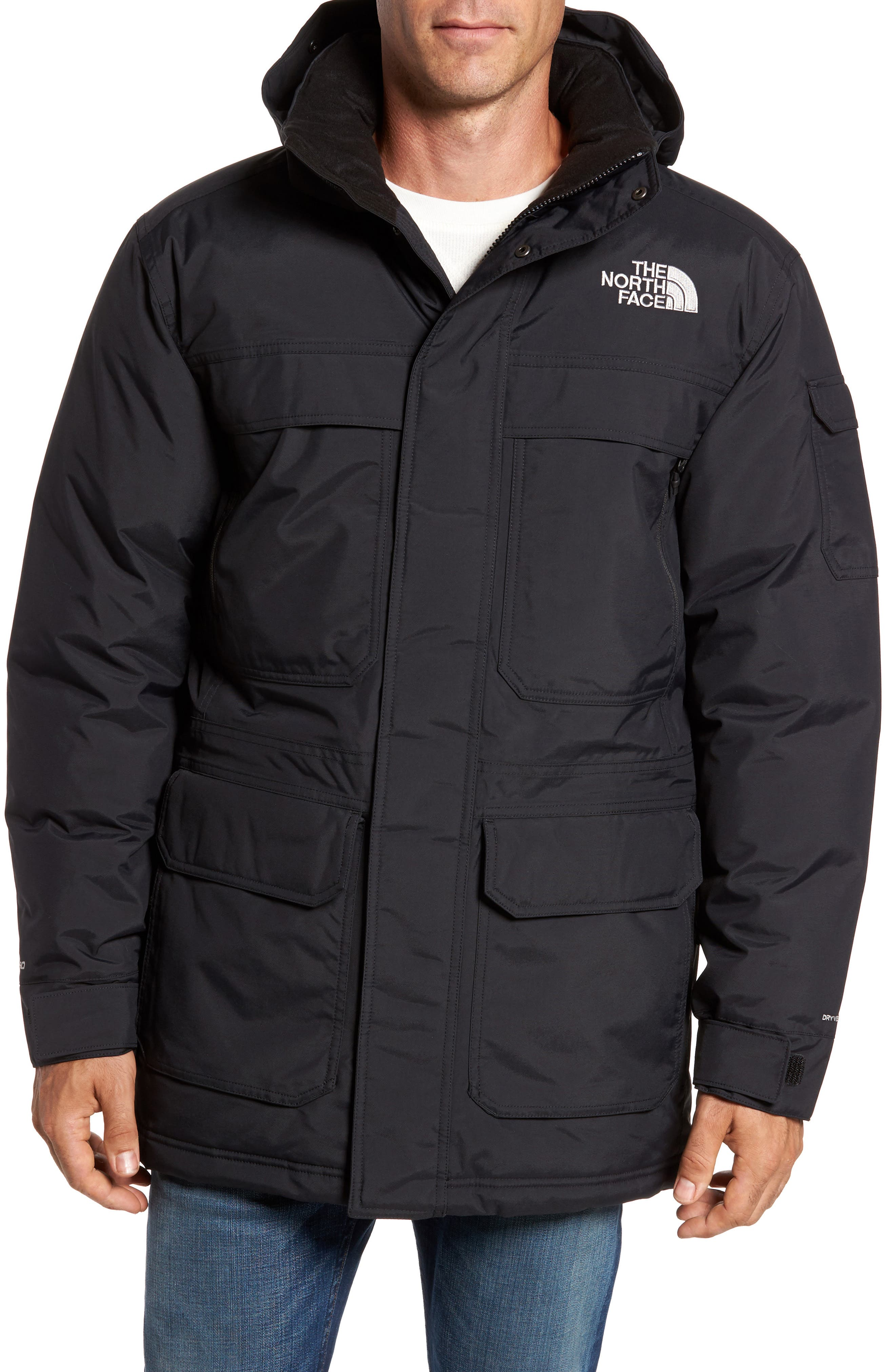 THE NORTH FACE,                             McMurdo III Waterproof Parka,                             Alternate thumbnail 4, color,                             001