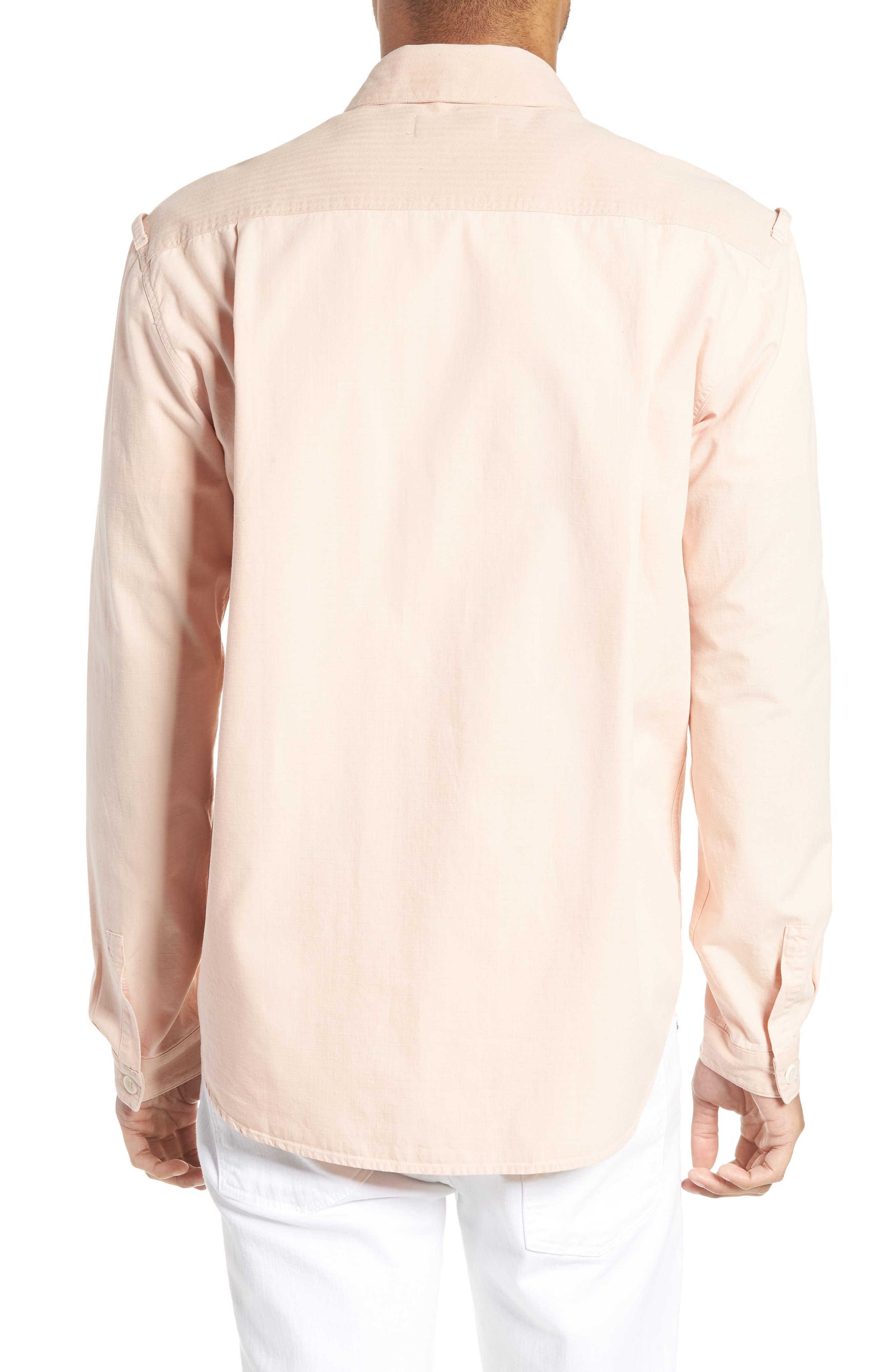 Doc Savage Slim Fit Sport Shirt,                             Alternate thumbnail 2, color,