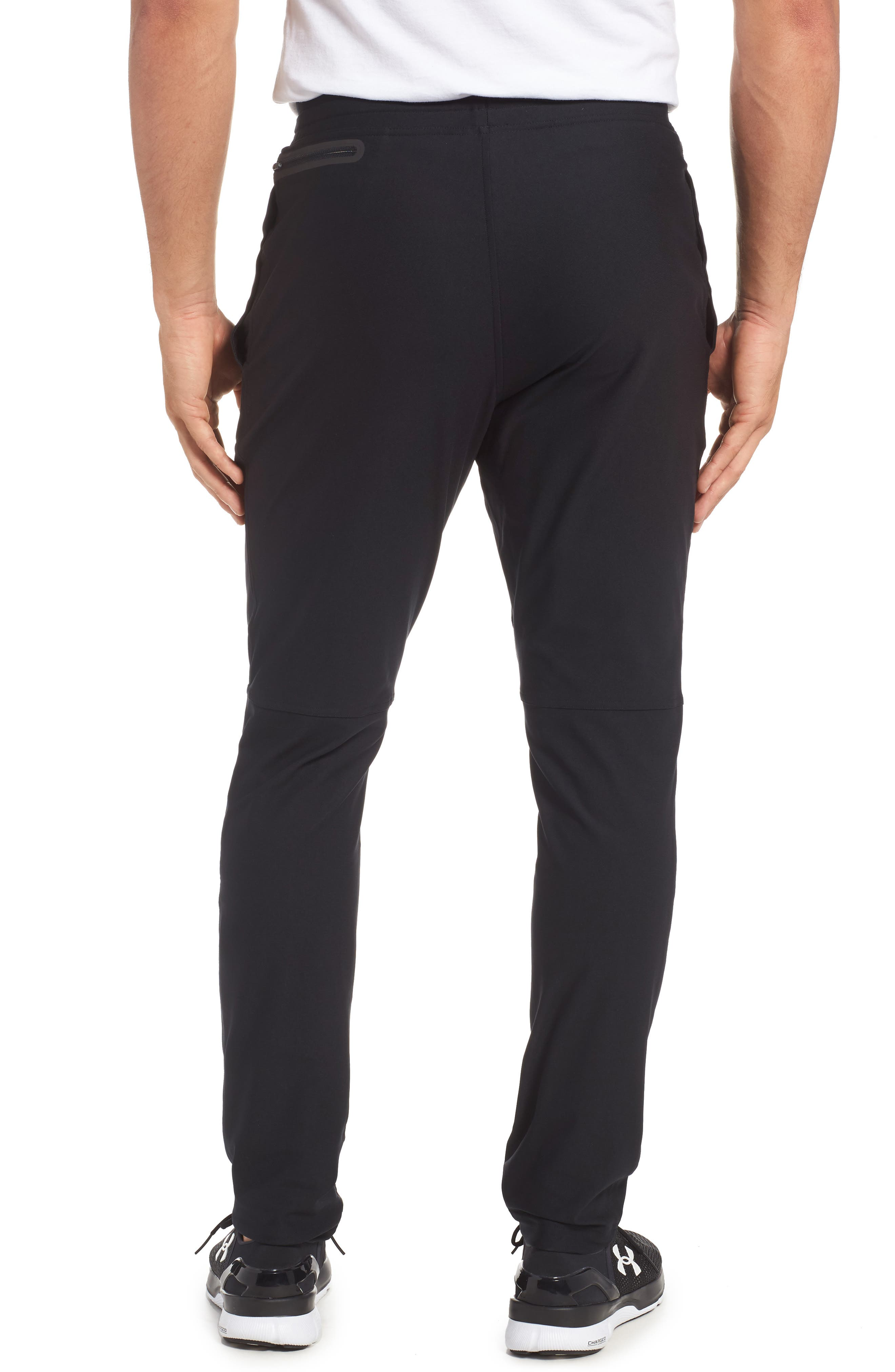 Elevated Pants,                             Alternate thumbnail 2, color,                             BLACK
