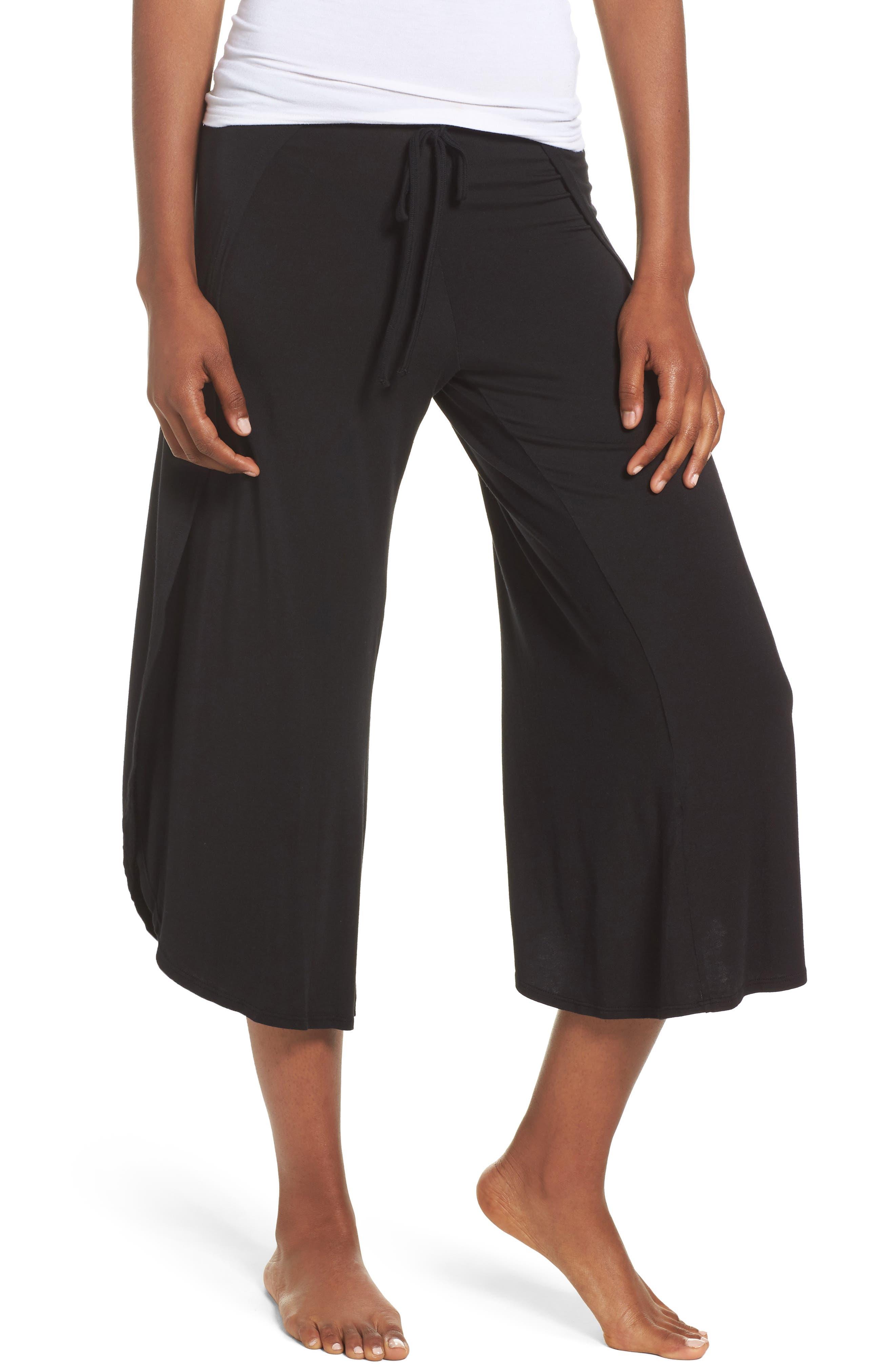Lola Wrap Around Crop Pants,                         Main,                         color, 001