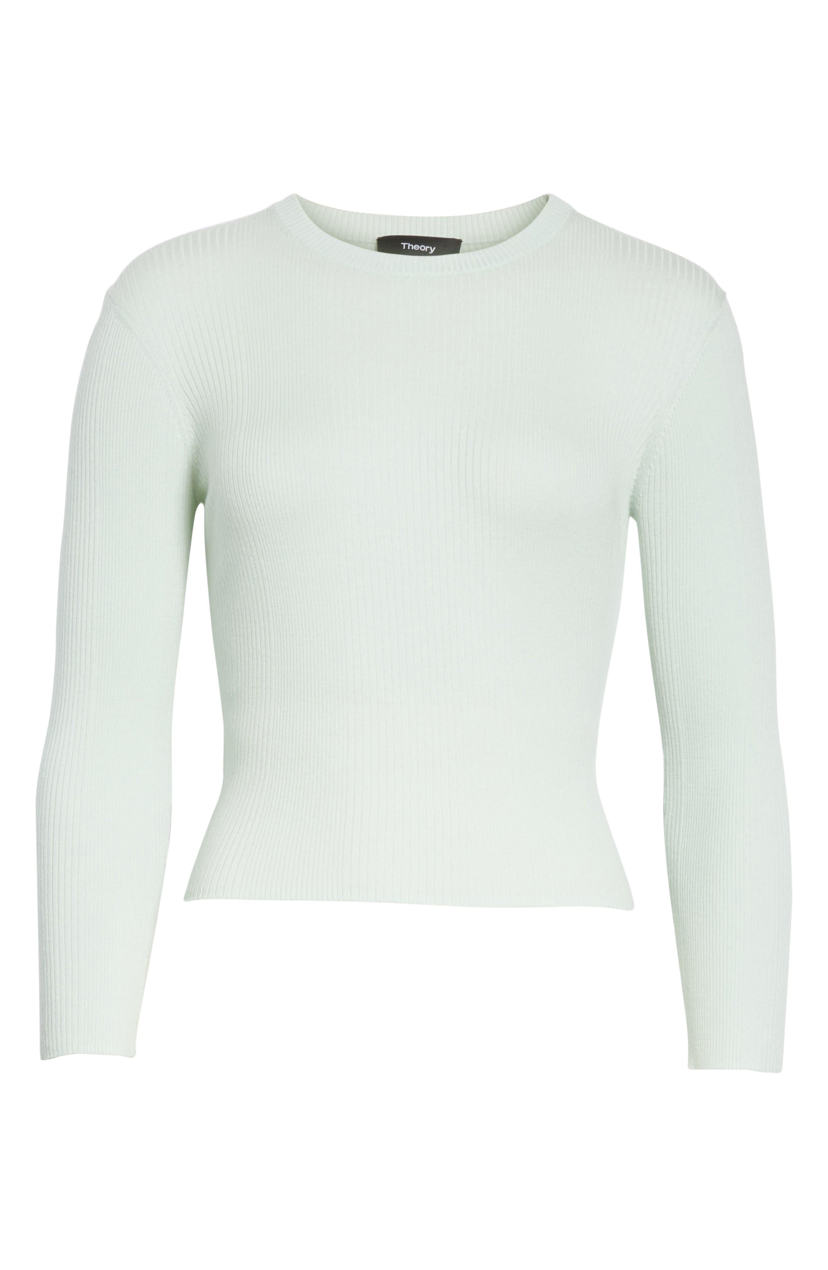 Merino Wool Blend Sweater,                             Alternate thumbnail 17, color,