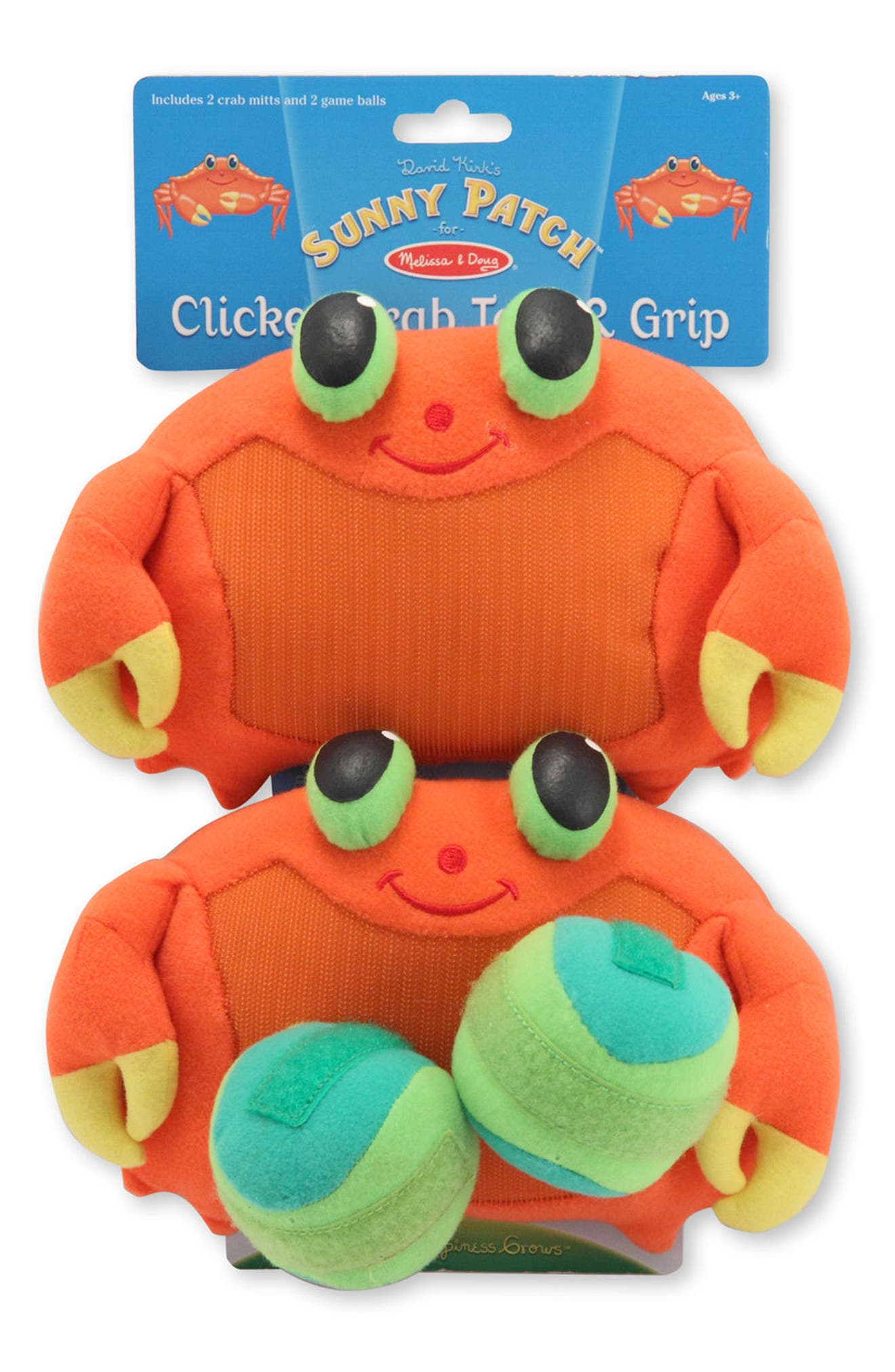 MELISSA & DOUG,                             Clicker Crab Toss & Grip,                             Alternate thumbnail 2, color,                             800