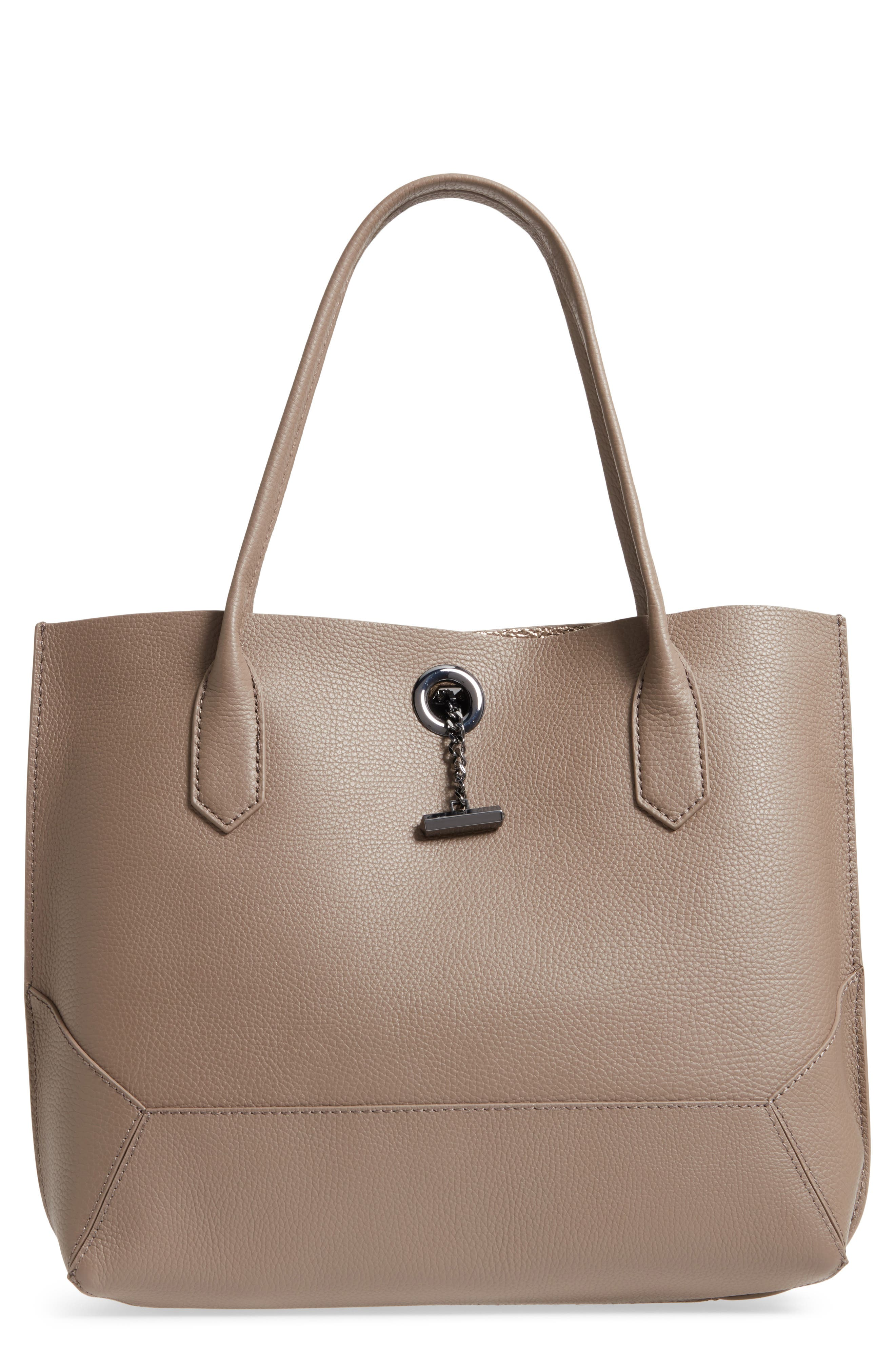 Waverly Leather Tote,                             Main thumbnail 4, color,