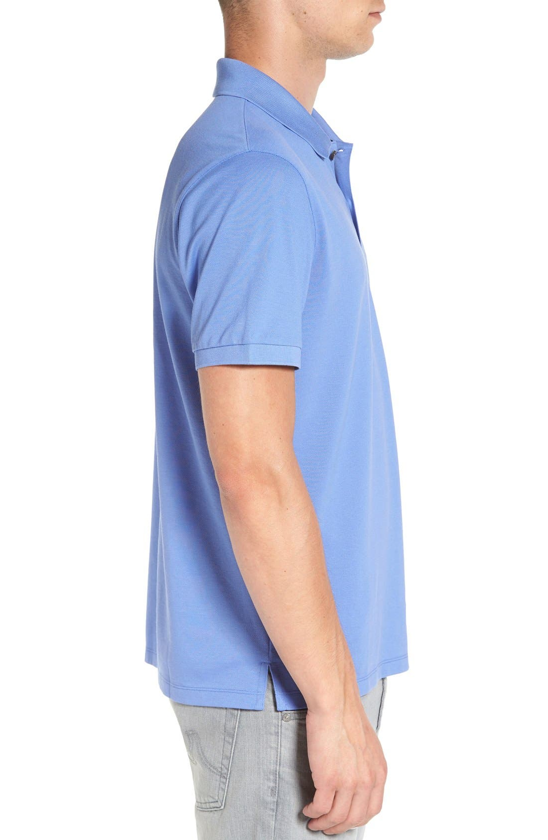 'Pallas' Regular Fit Logo Embroidered Polo Shirt,                             Alternate thumbnail 45, color,