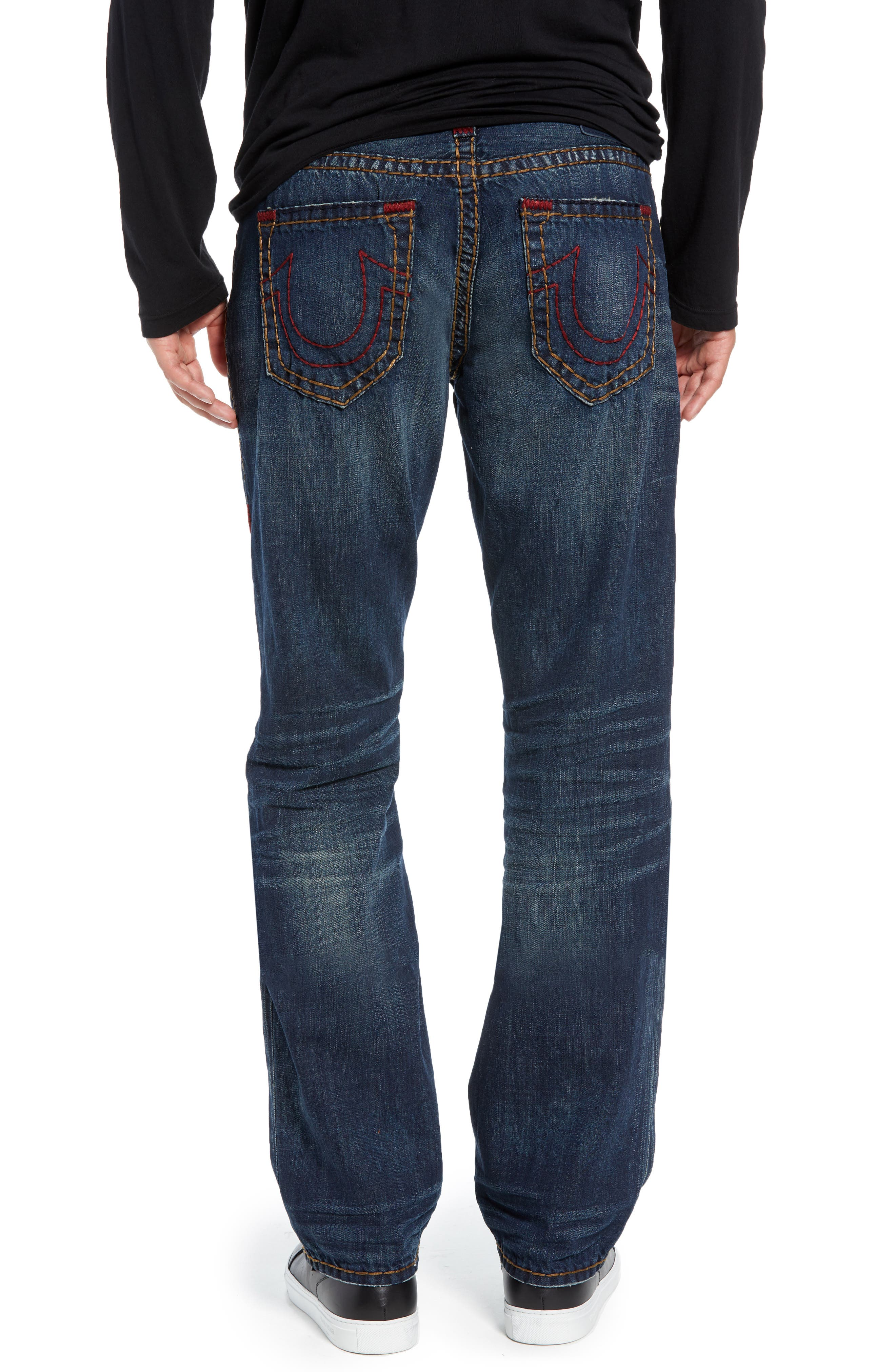 Ricky Skinny Fit Jeans,                             Alternate thumbnail 2, color,                             DARK MONORAIL