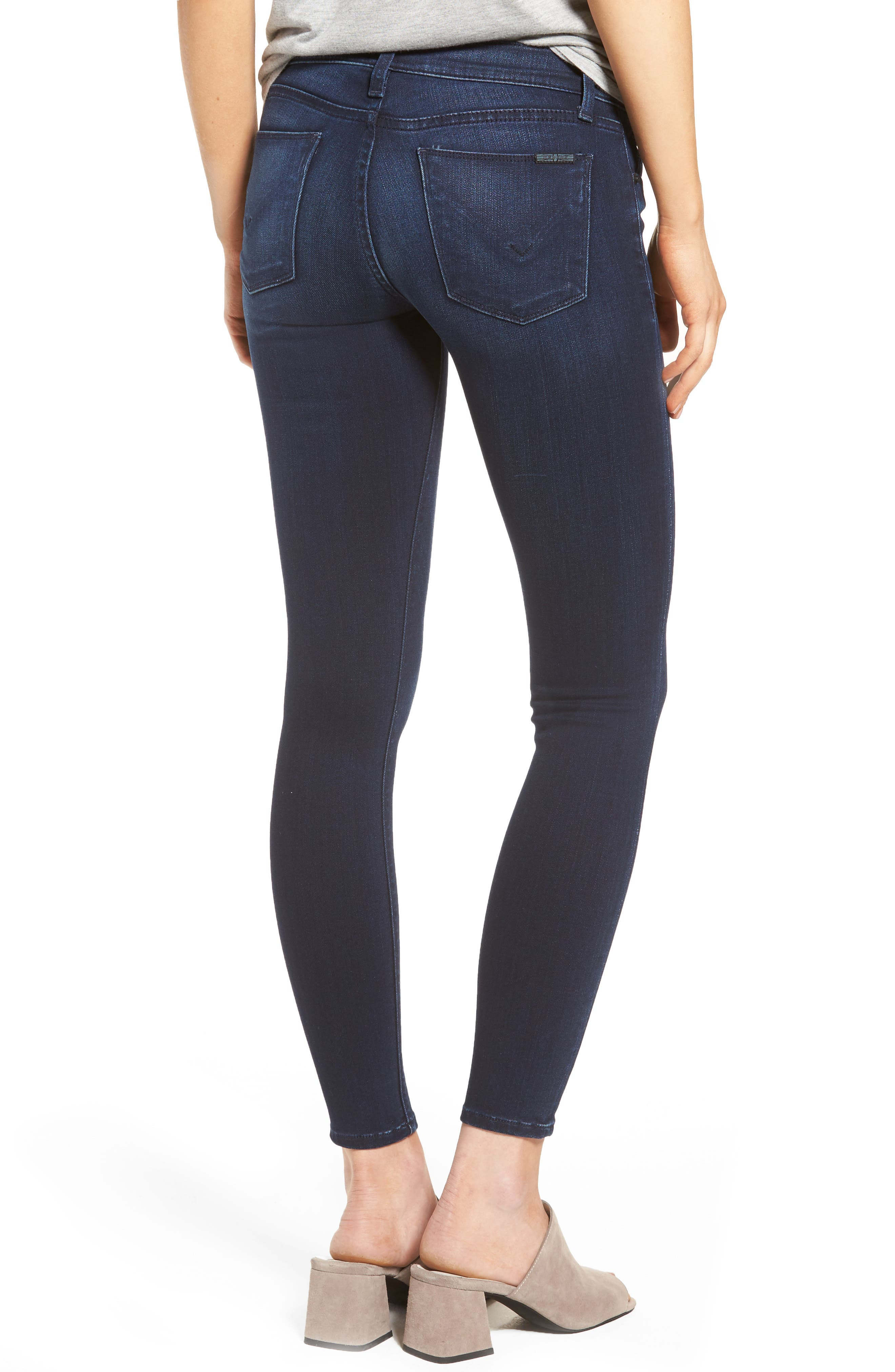 Krista Super Skinny Crop Jeans,                             Alternate thumbnail 2, color,                             401
