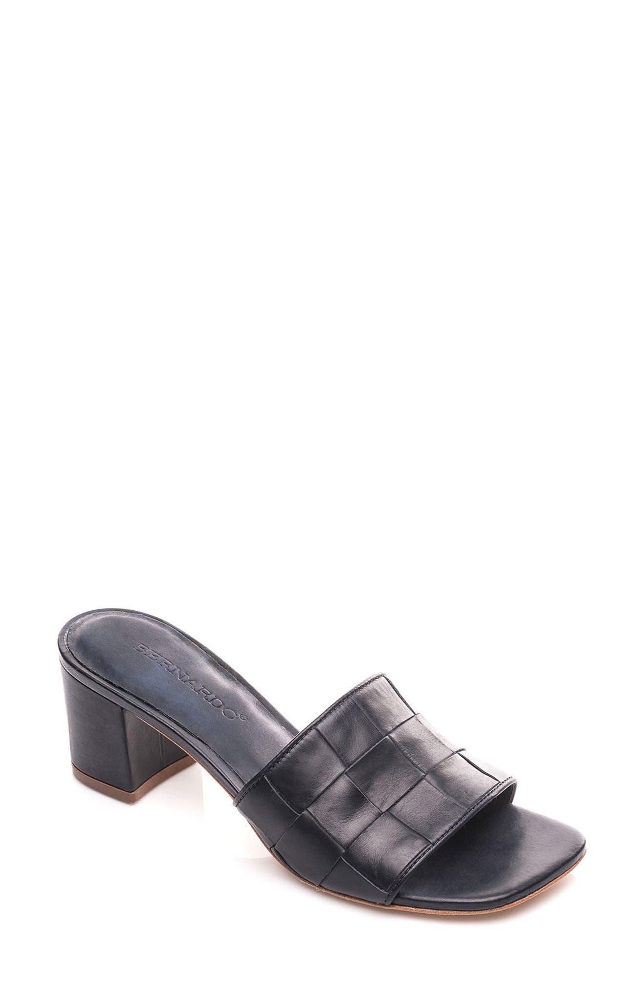Bernardo Bridget Block Heel Sandal,                             Main thumbnail 4, color,
