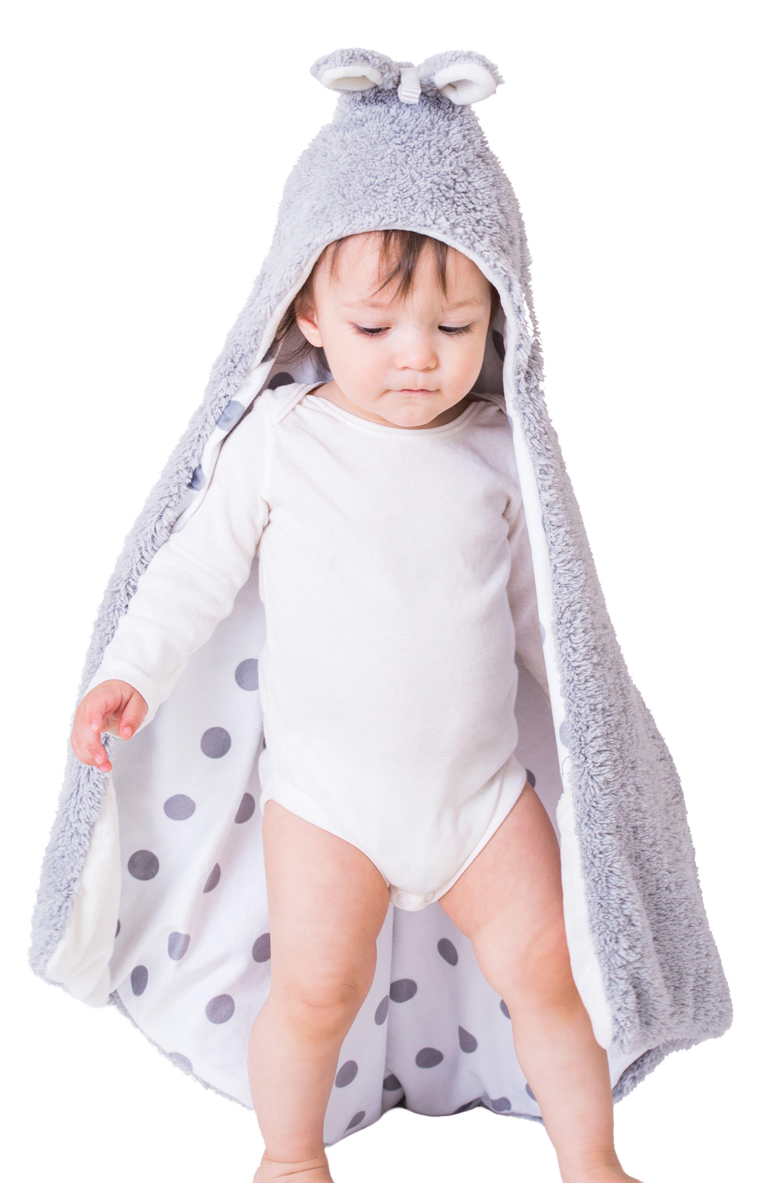 Storytime Hooded Blanket, Stuffed Animal & Book Set,                             Alternate thumbnail 2, color,
