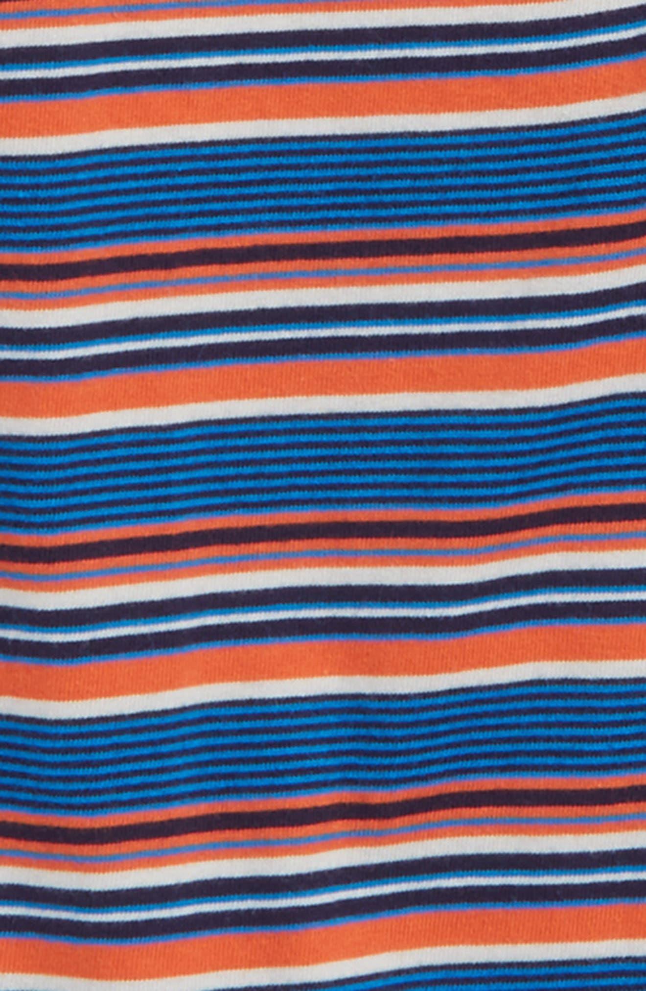 Ugie Stripe Henley T-Shirt,                             Alternate thumbnail 4, color,