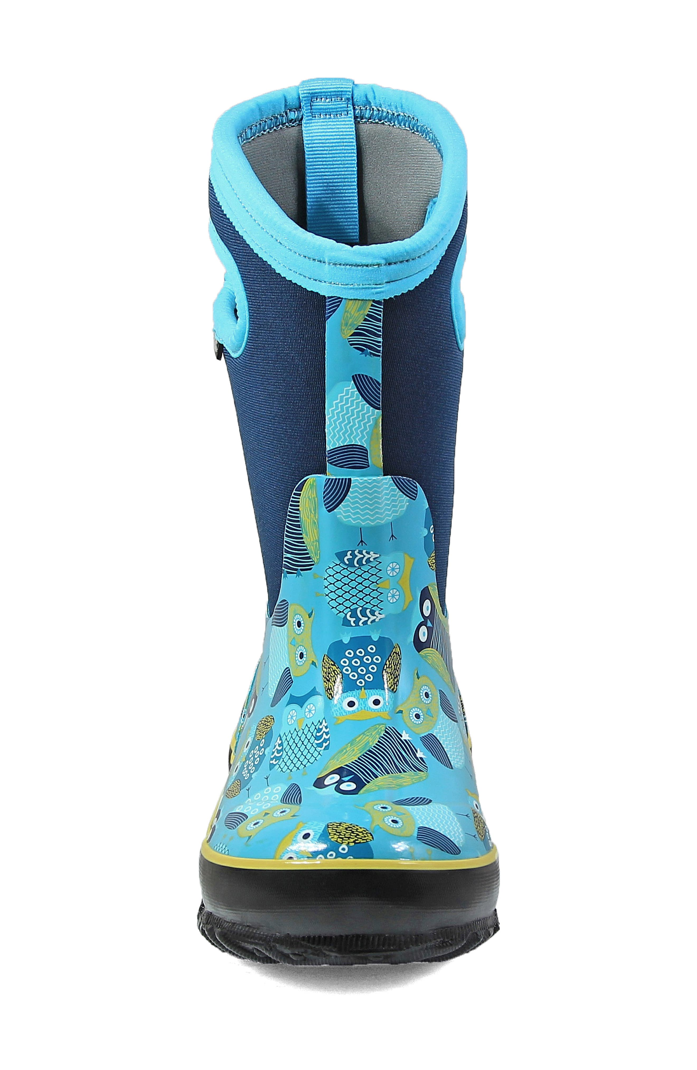 Classic Insulated Waterproof Owl Boot,                             Alternate thumbnail 4, color,                             460