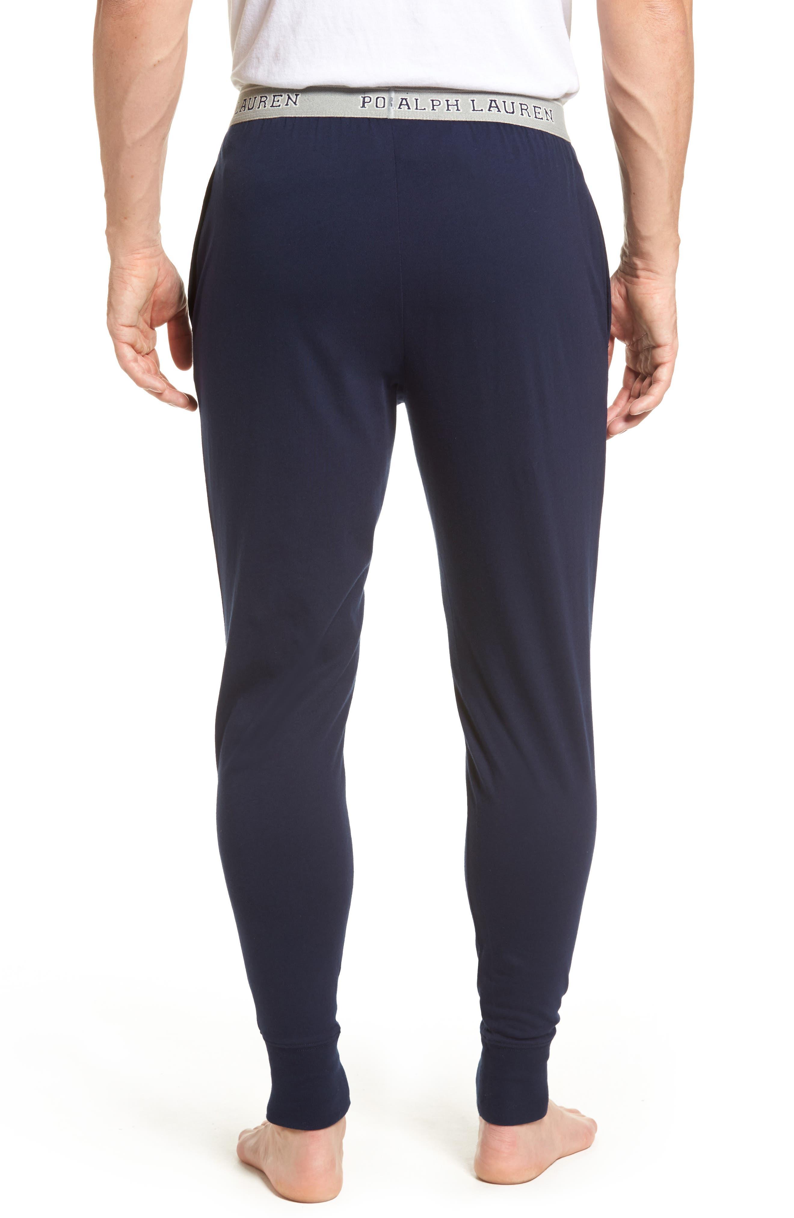 Cotton Jogger Lounge Pants,                             Alternate thumbnail 5, color,