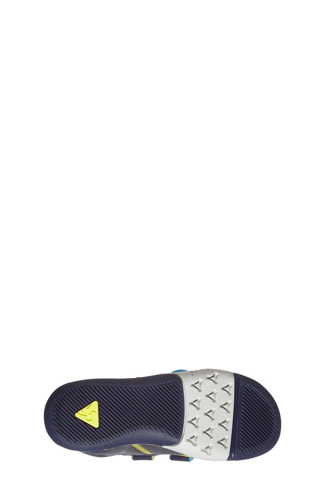 Ty Customizable Sneaker,                             Alternate thumbnail 4, color,                             NAVY/ STEEL