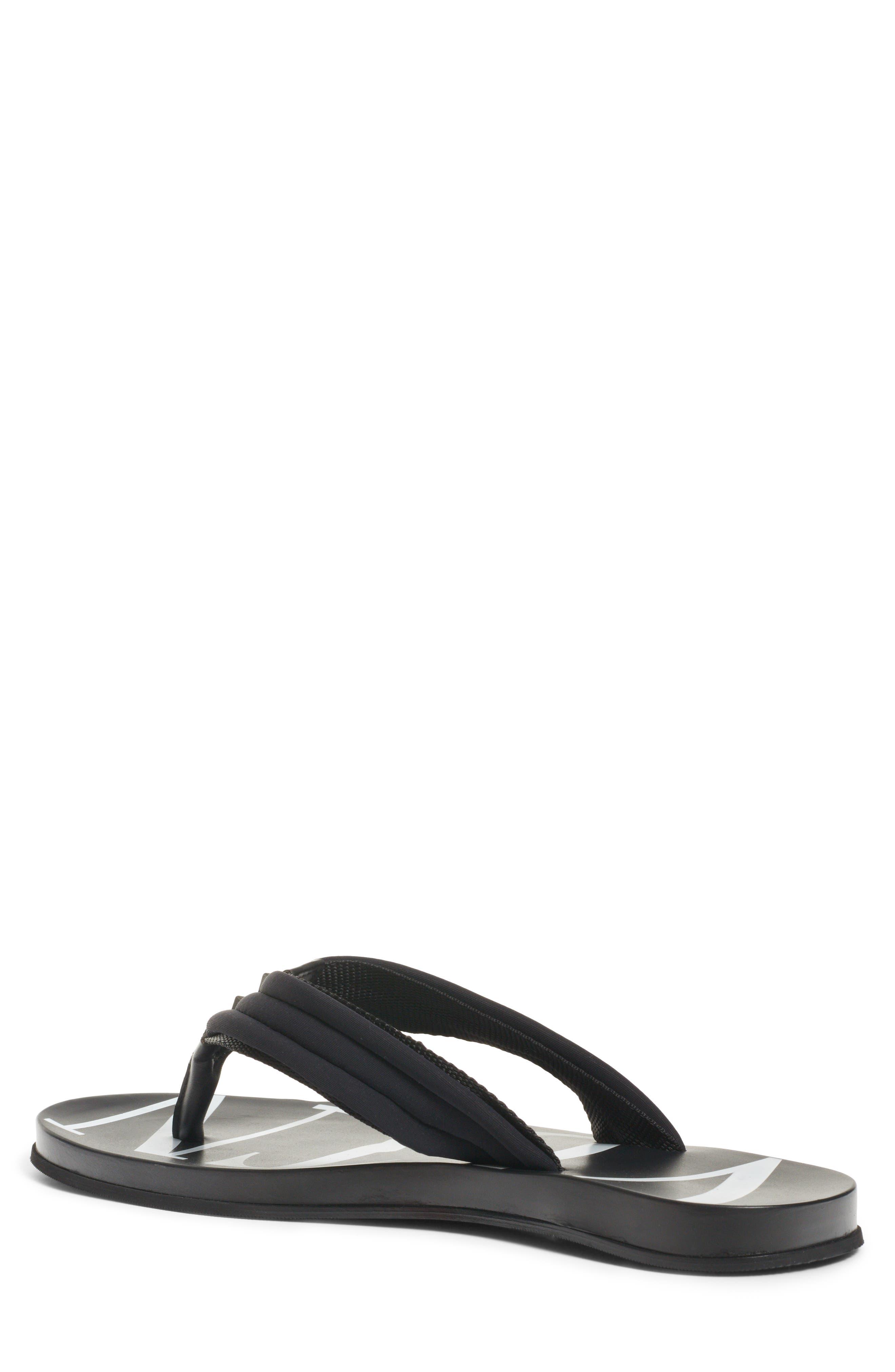 Sandal,                             Alternate thumbnail 2, color,                             BLACK/ WHITE