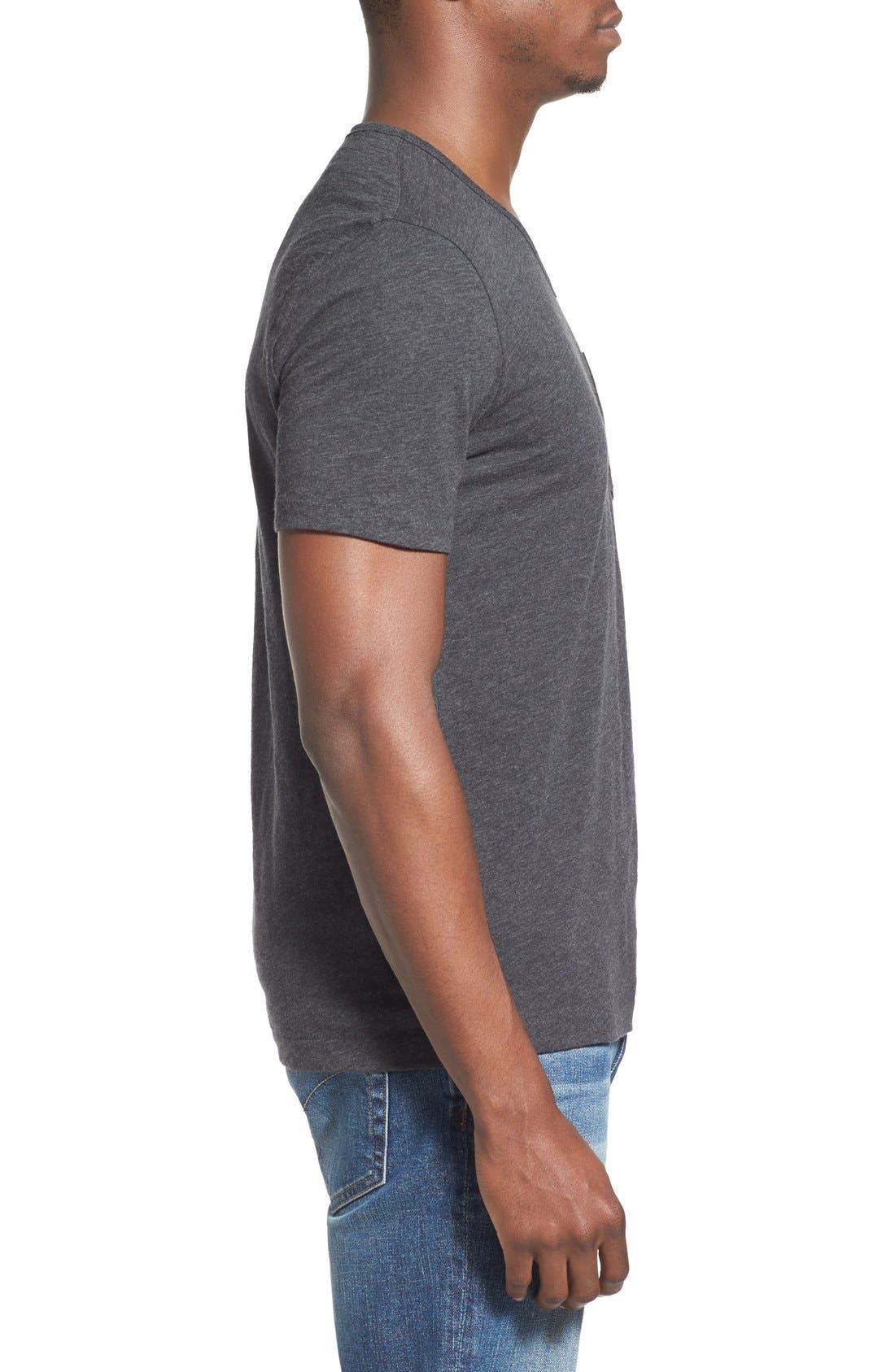 'Bing' V-Neck Pocket T-Shirt,                             Alternate thumbnail 13, color,