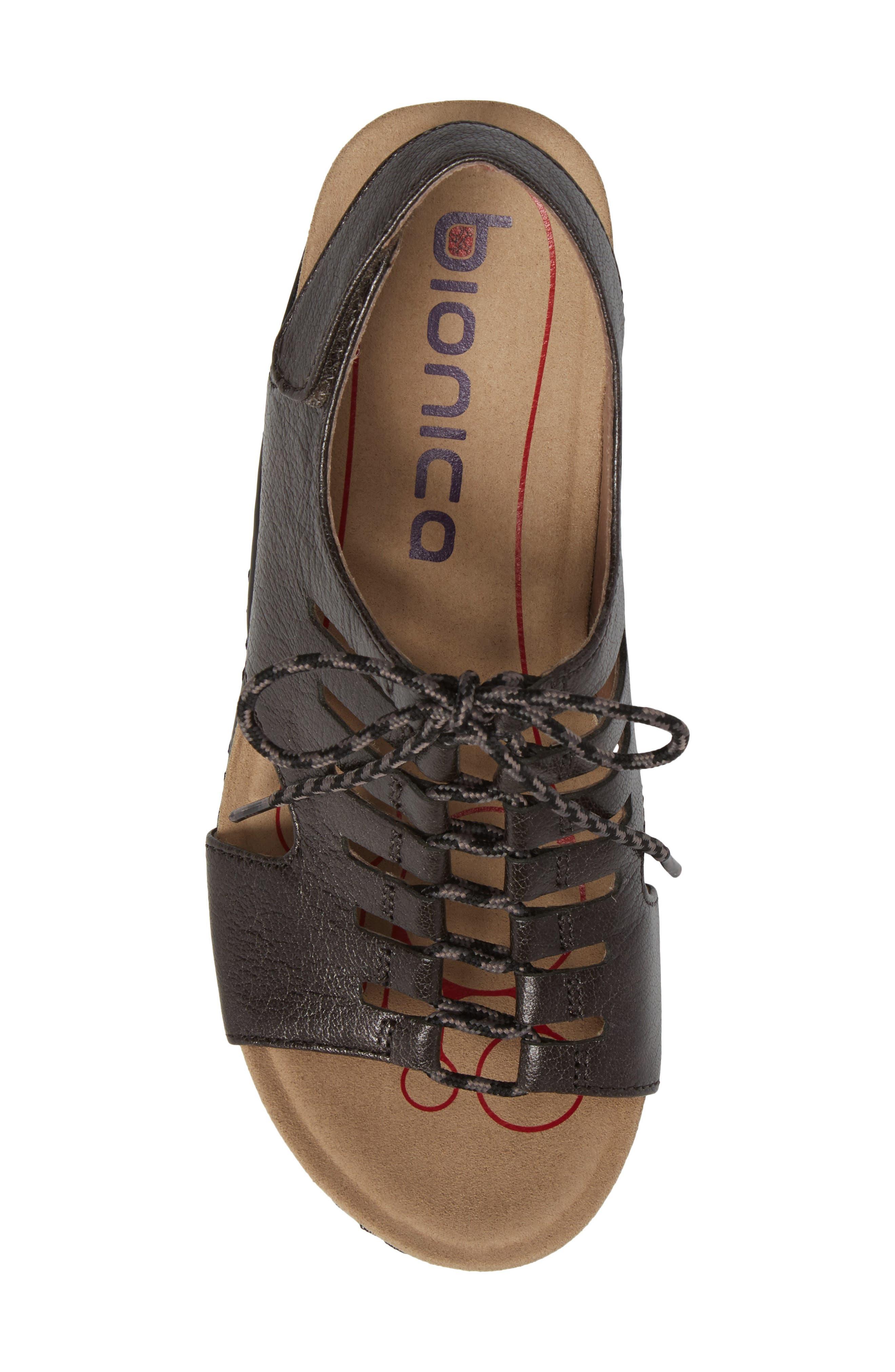 Sirus Wedge Sandal,                             Alternate thumbnail 5, color,                             040