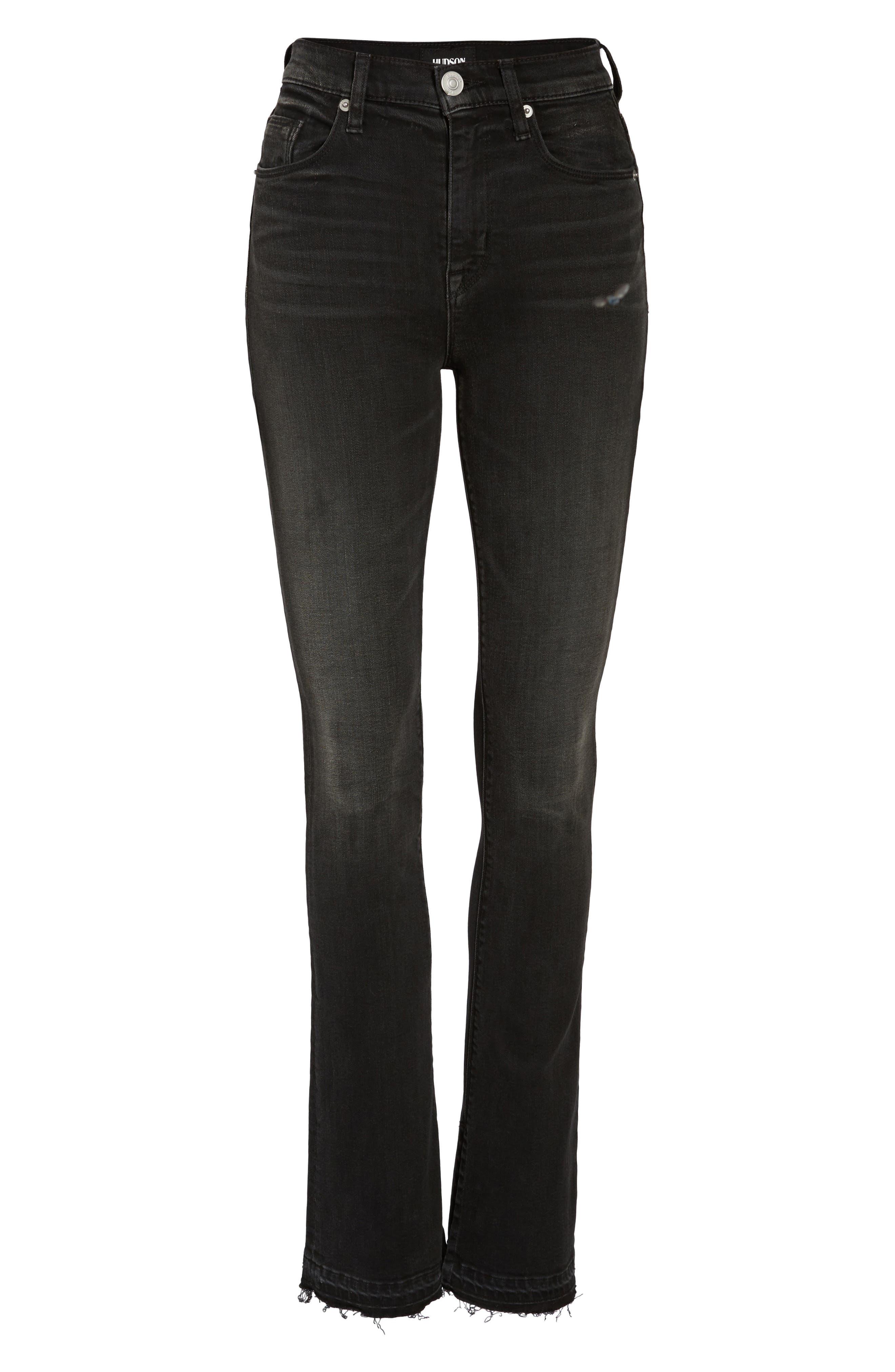 Heartbreaker High Waist Bootcut Jeans,                             Alternate thumbnail 6, color,