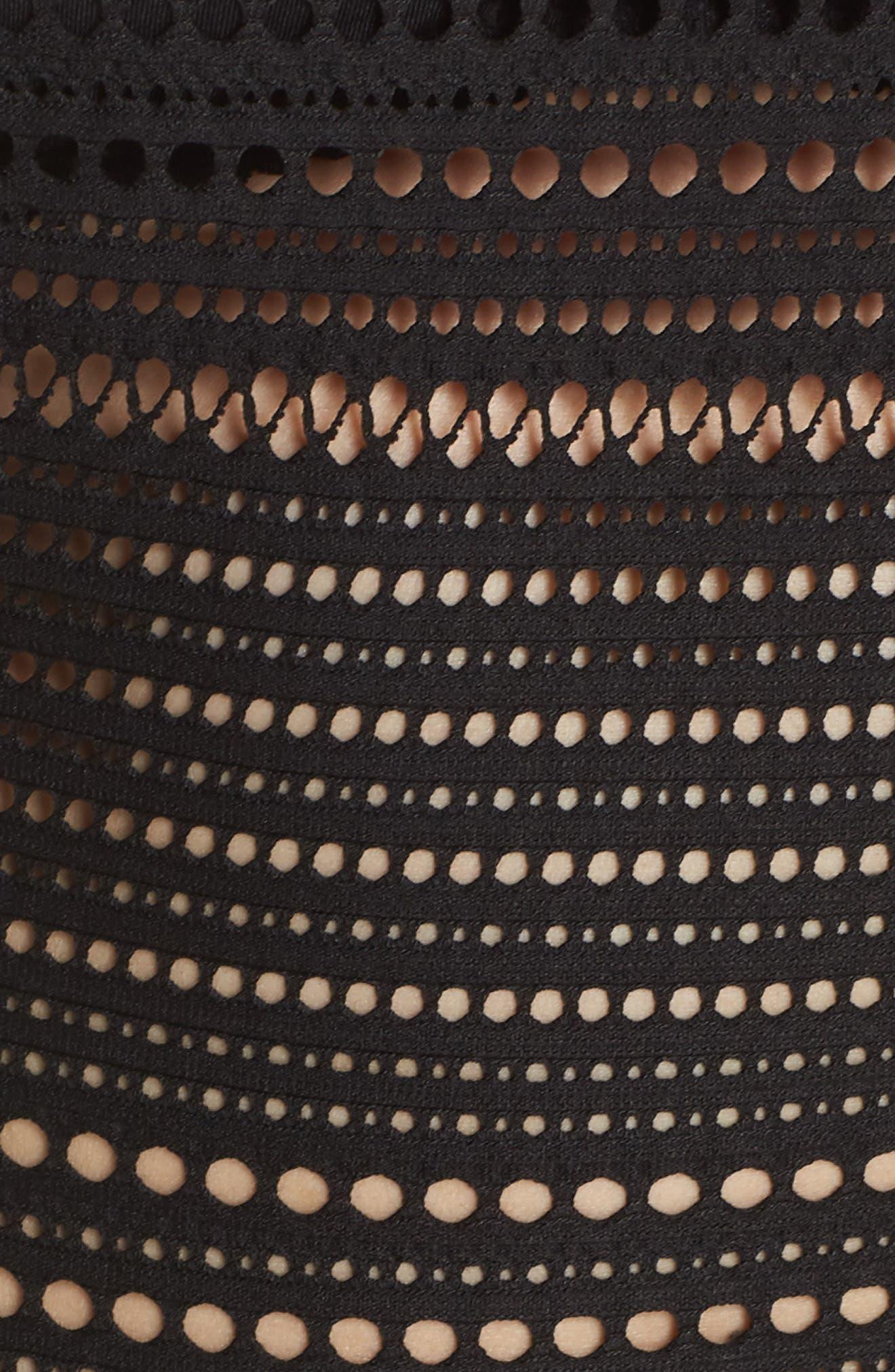 Perla Badeau One-Piece Swimsuit,                             Alternate thumbnail 5, color,                             001