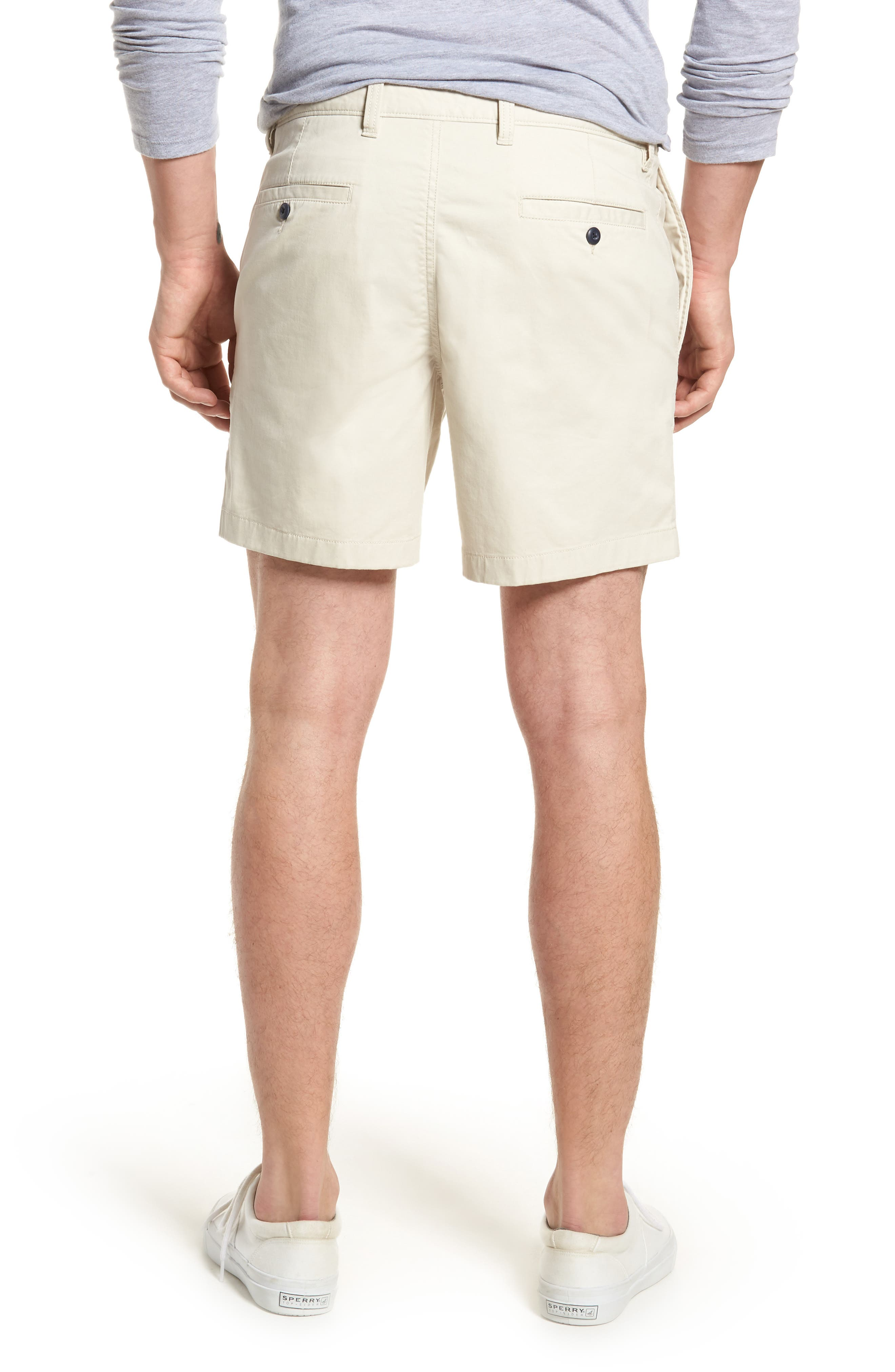 Ballard Slim Fit Stretch Chino 7-Inch Shorts,                             Alternate thumbnail 16, color,