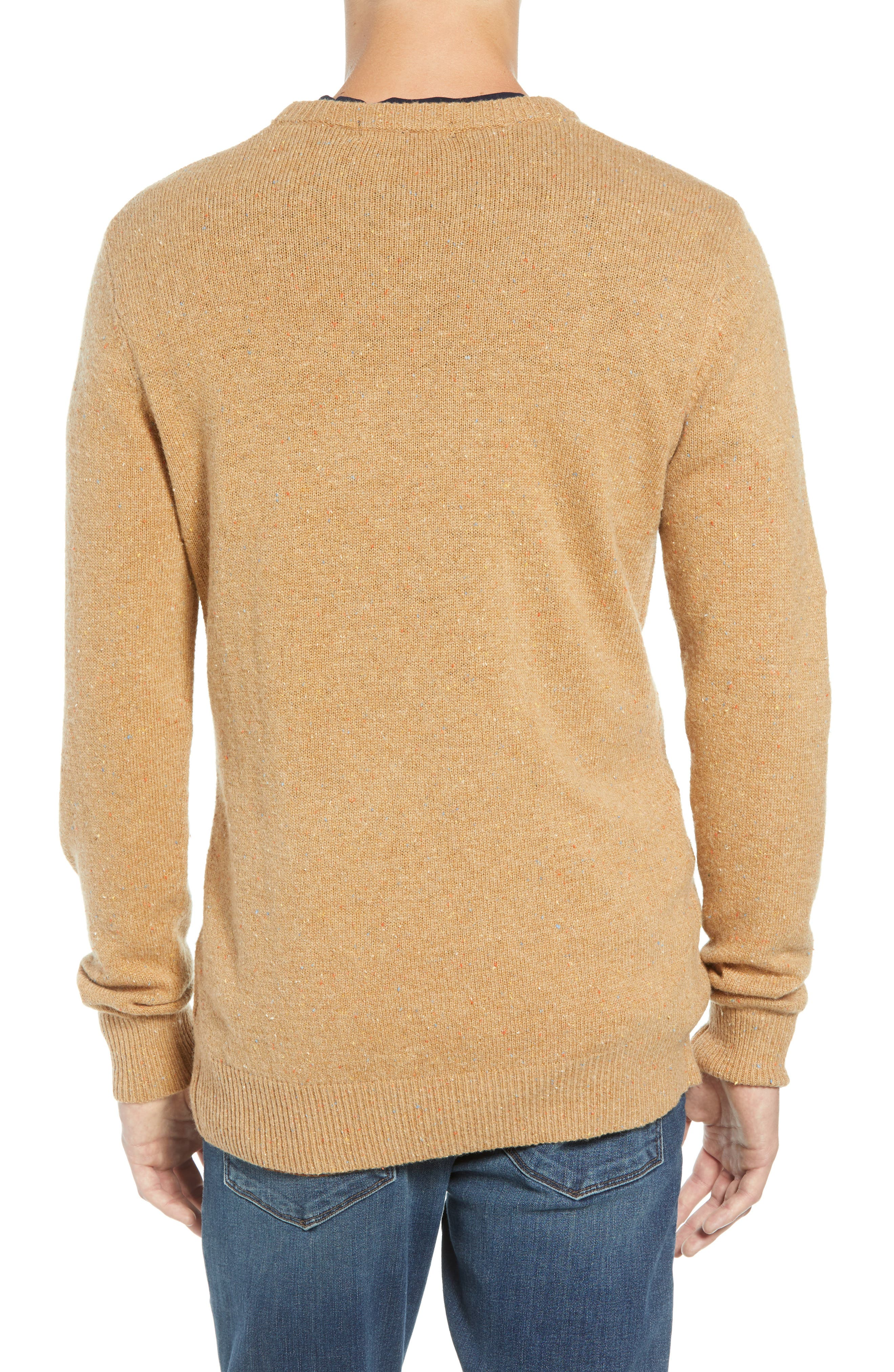SCOTCH & SODA,                             Nepped Wool Blend Sweater,                             Alternate thumbnail 2, color,                             COMBO E