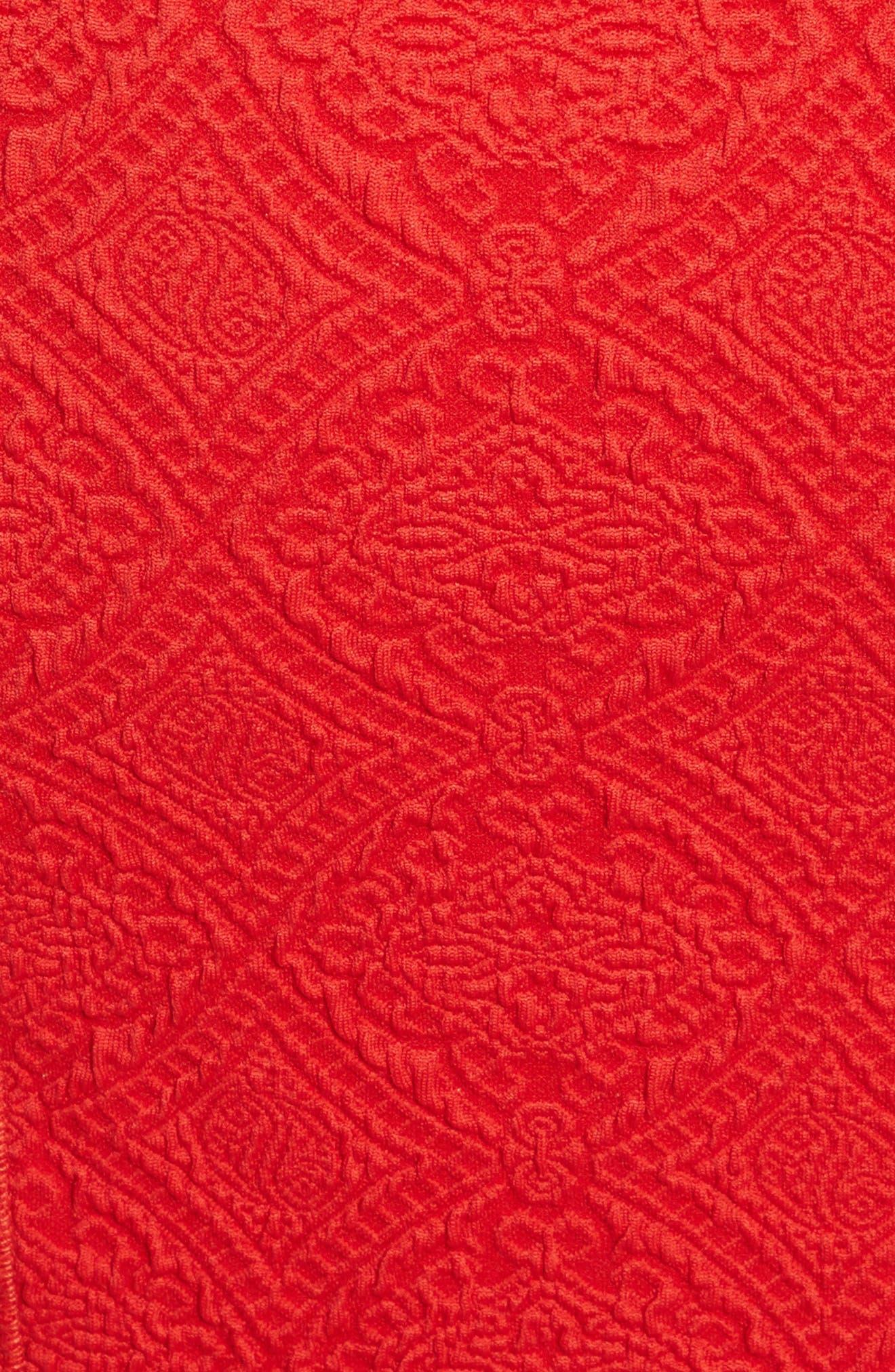 Lotus Jacquard Medallion Dress,                             Alternate thumbnail 5, color,                             621