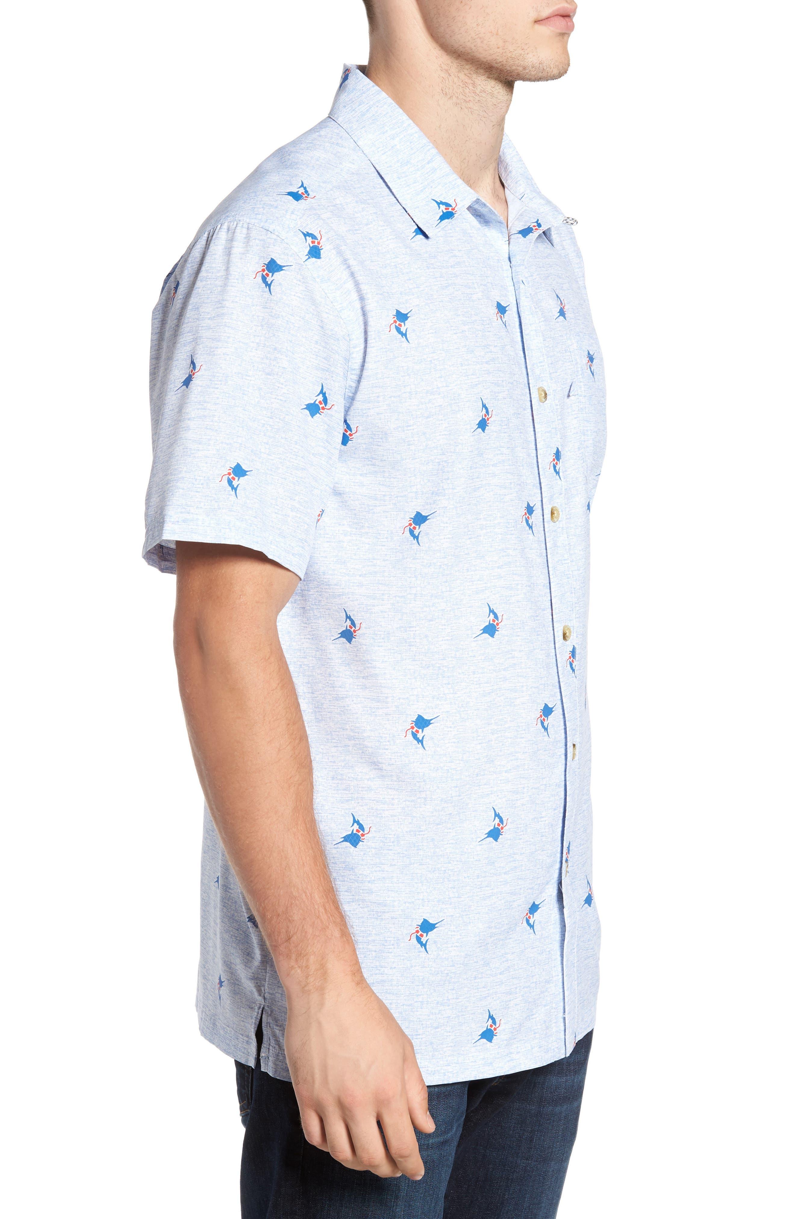 Super Slack Tide Patterned Woven Shirt,                             Alternate thumbnail 14, color,