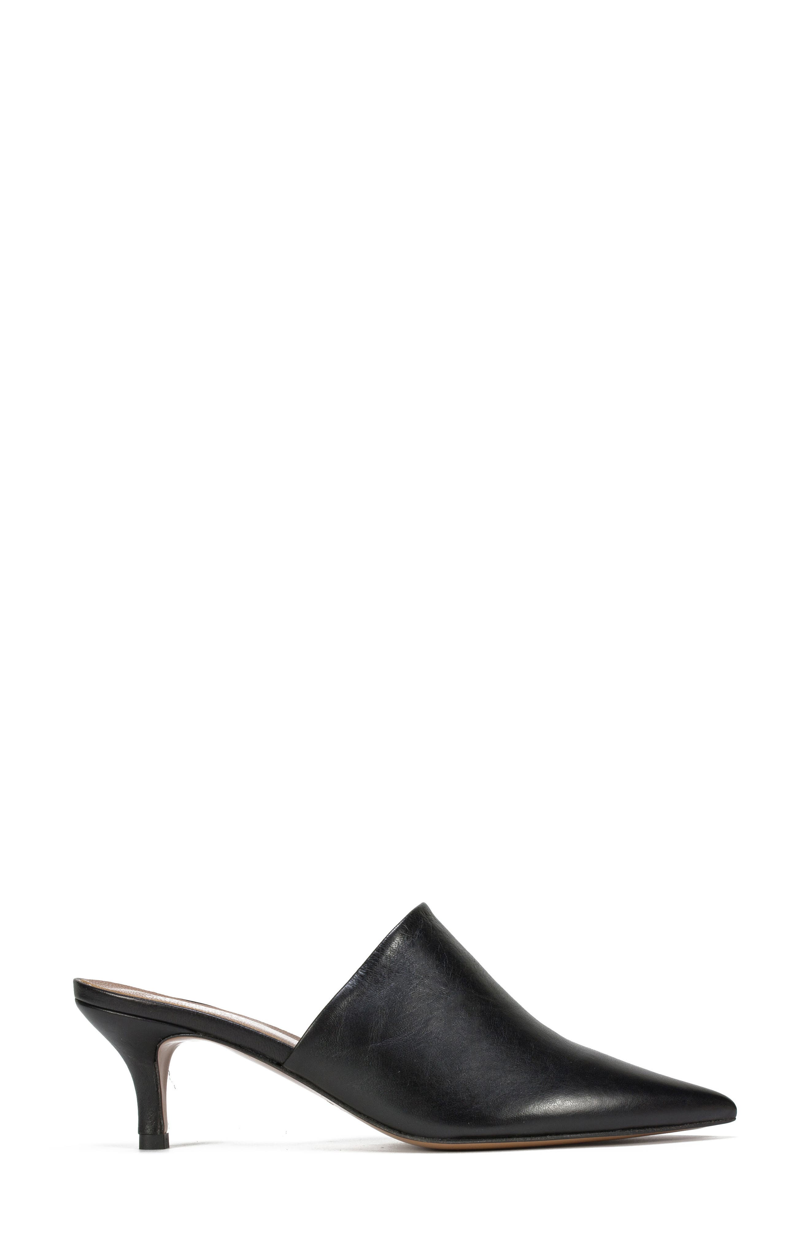 Piper Pointy Toe Mule,                             Alternate thumbnail 3, color,                             001