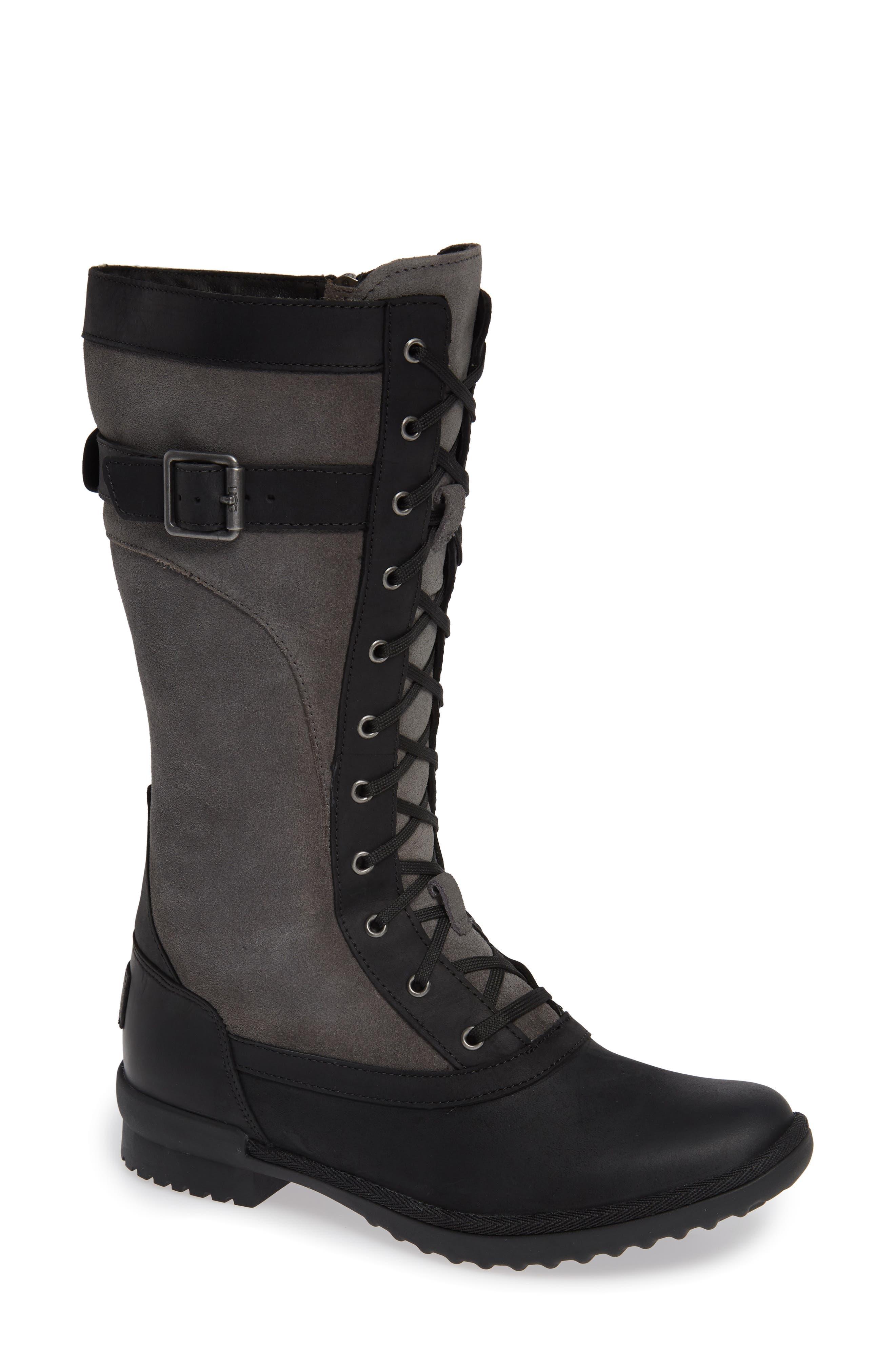 Ugg Brystl Waterproof Insulated Boot, Black