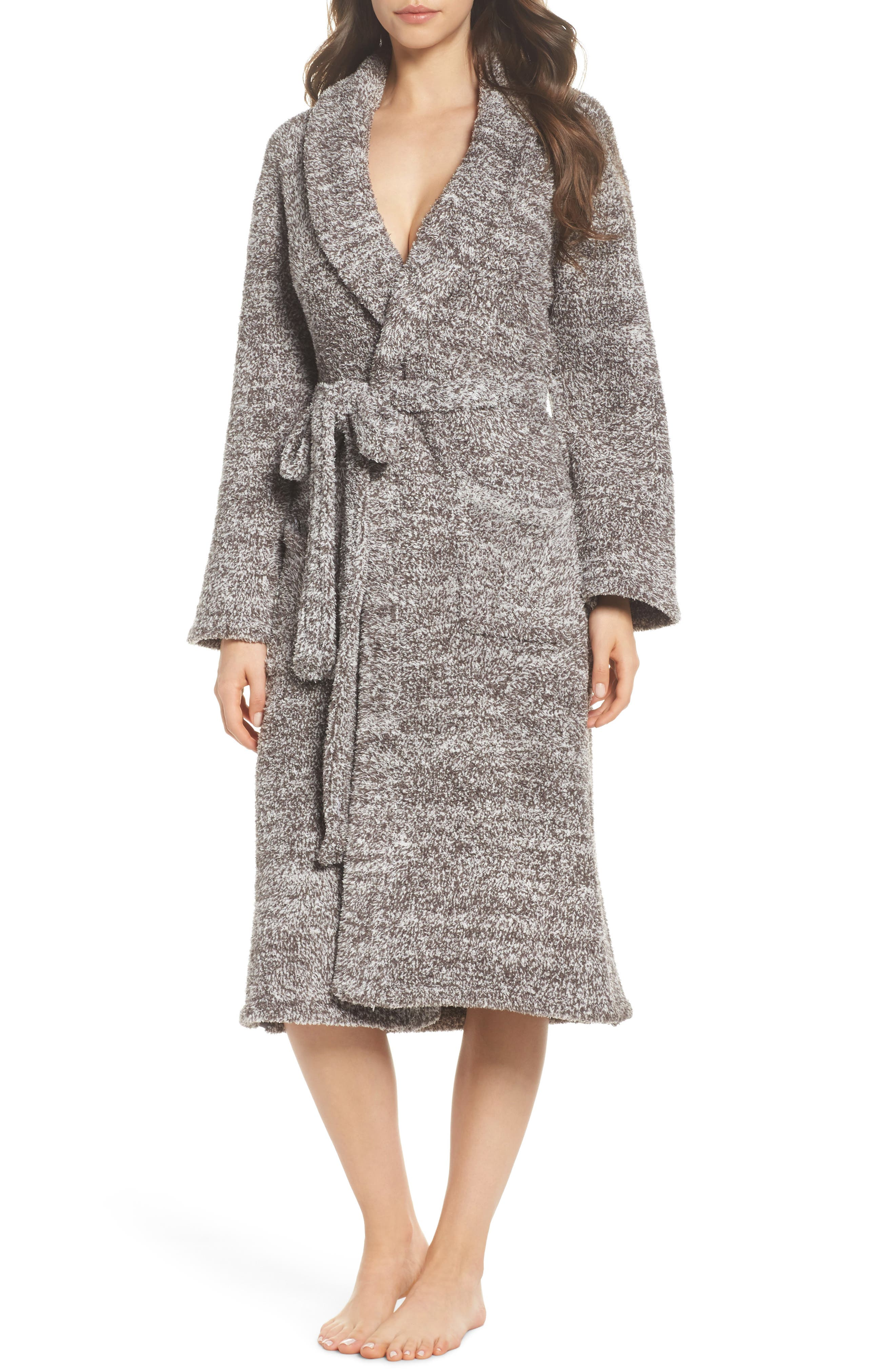 CozyChic<sup>®</sup> Robe,                             Main thumbnail 1, color,                             COCOA/ PEARL