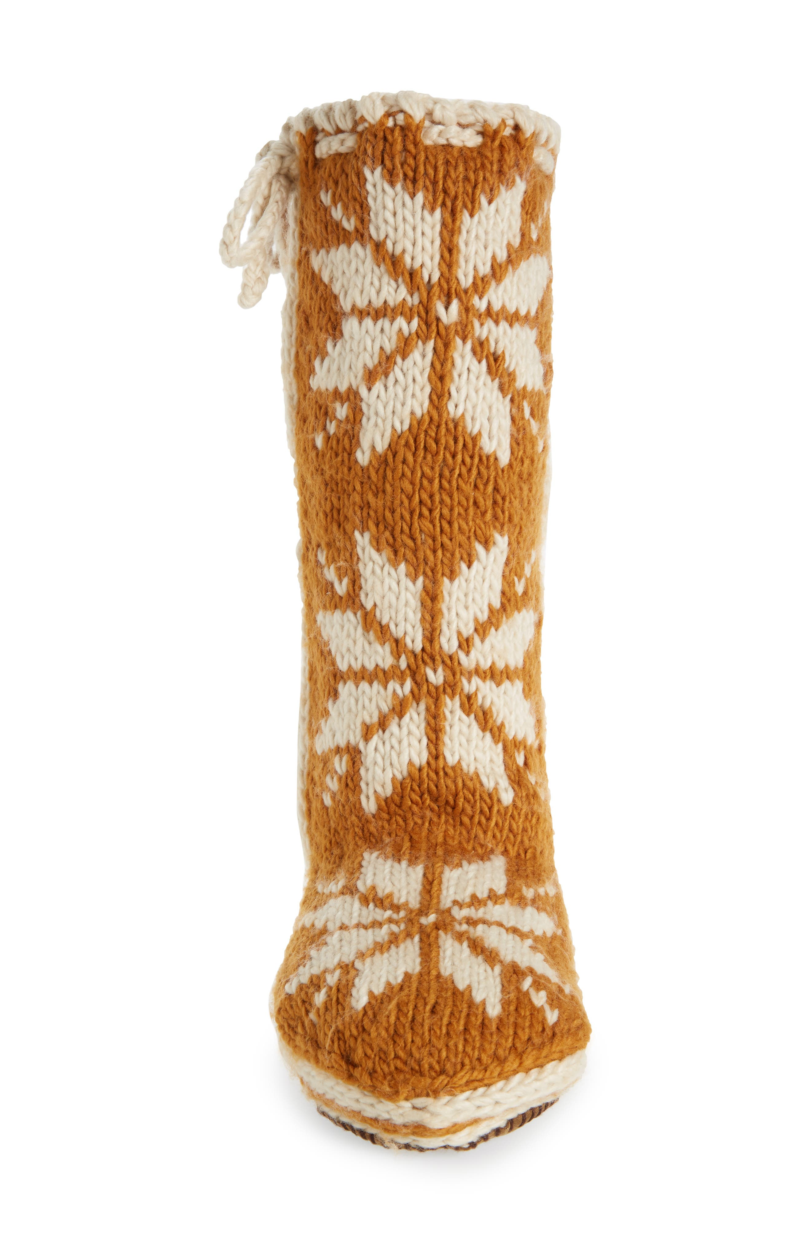 'Chalet' Socks,                             Alternate thumbnail 4, color,                             CATHAY SPICE FABRIC