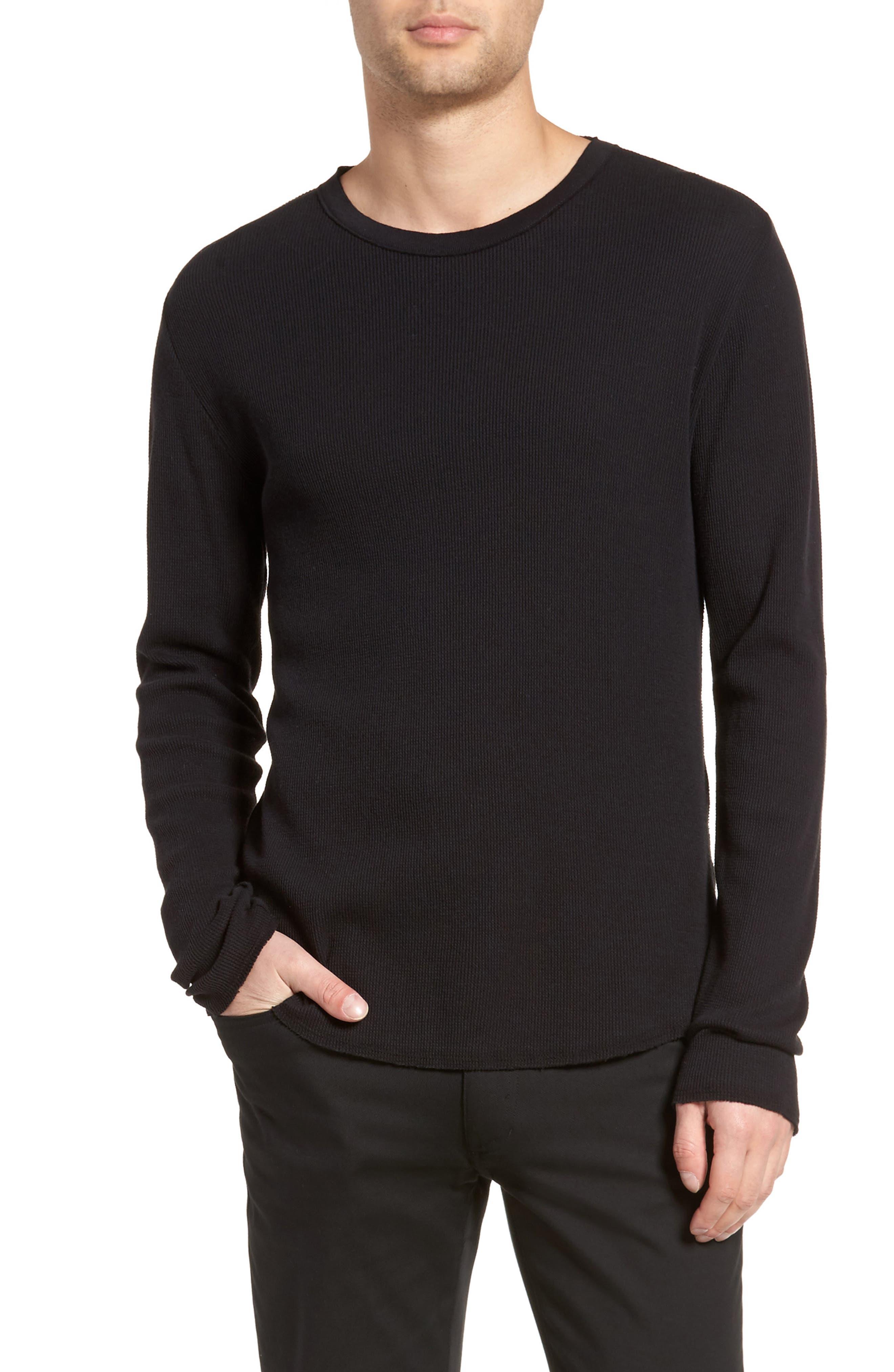 Thermal Knit Long Sleeve T-Shirt,                         Main,                         color,