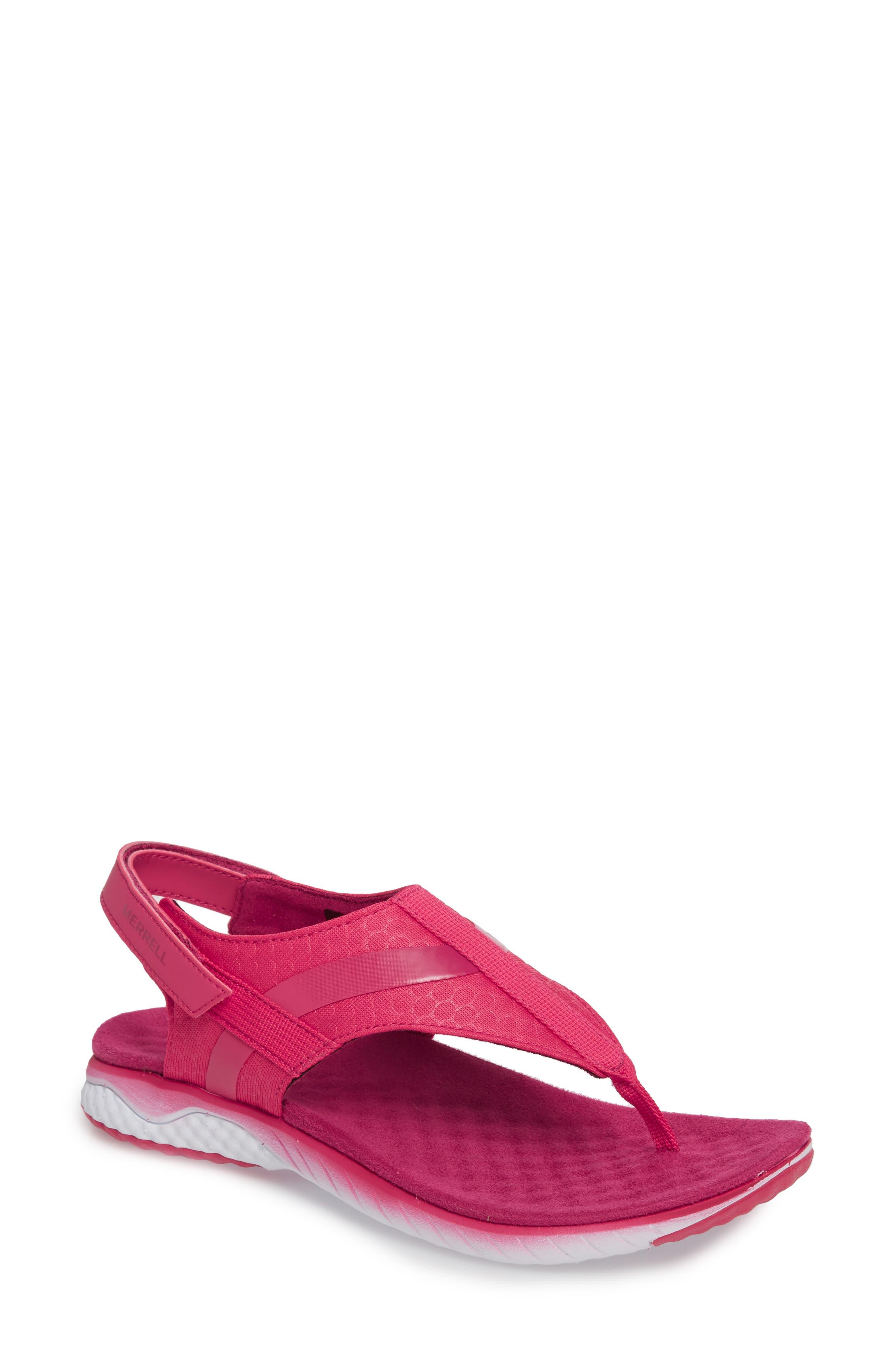 1SIX8 Linna Slide Air Cushion+ Sandal,                             Main thumbnail 4, color,