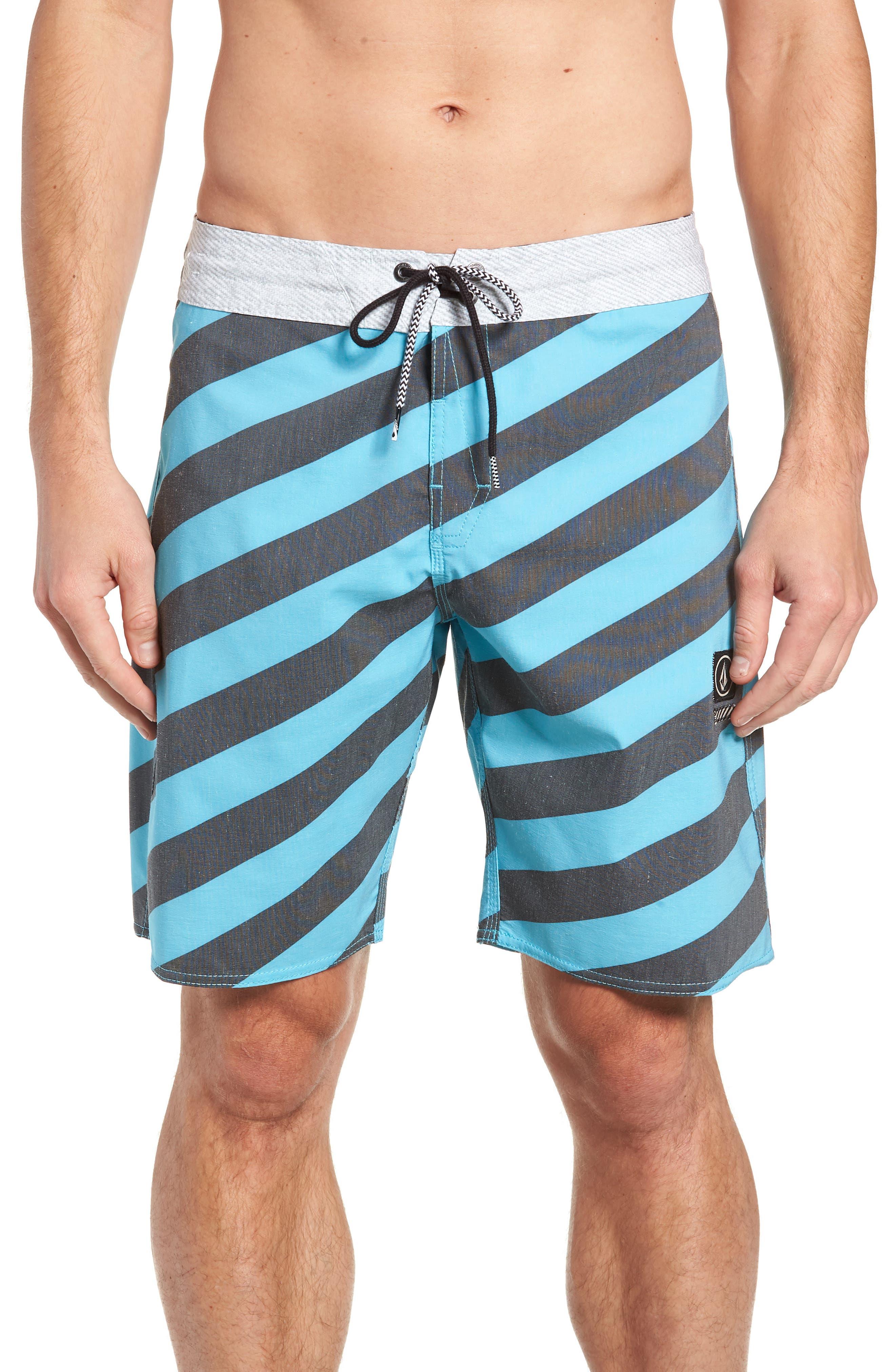 Stripey Stoney Boardshorts,                             Main thumbnail 1, color,                             470