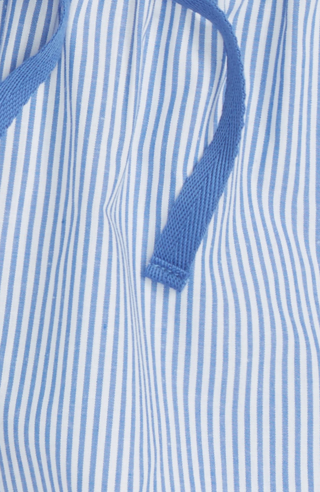 Ruffle Pajama Shorts,                             Alternate thumbnail 2, color,                             100