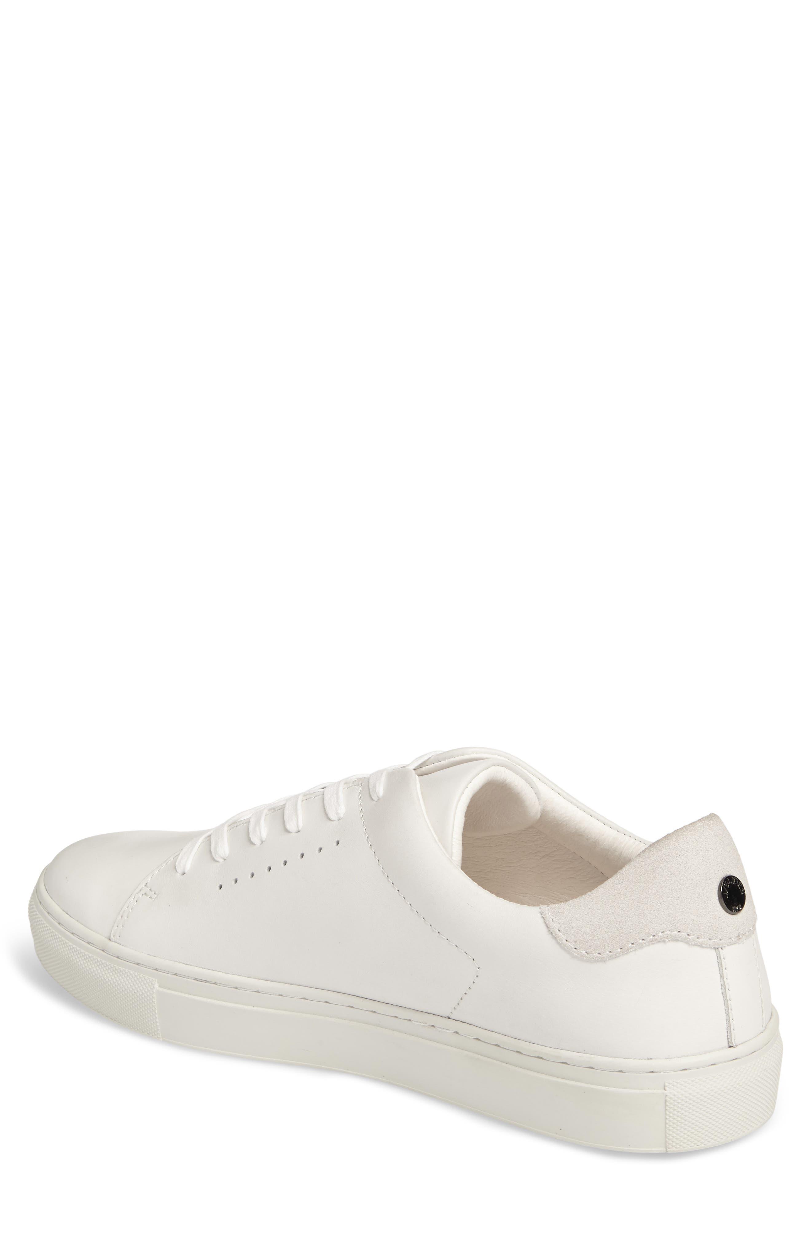 Desmond Sneaker,                             Alternate thumbnail 2, color,                             WHITE LEATHER