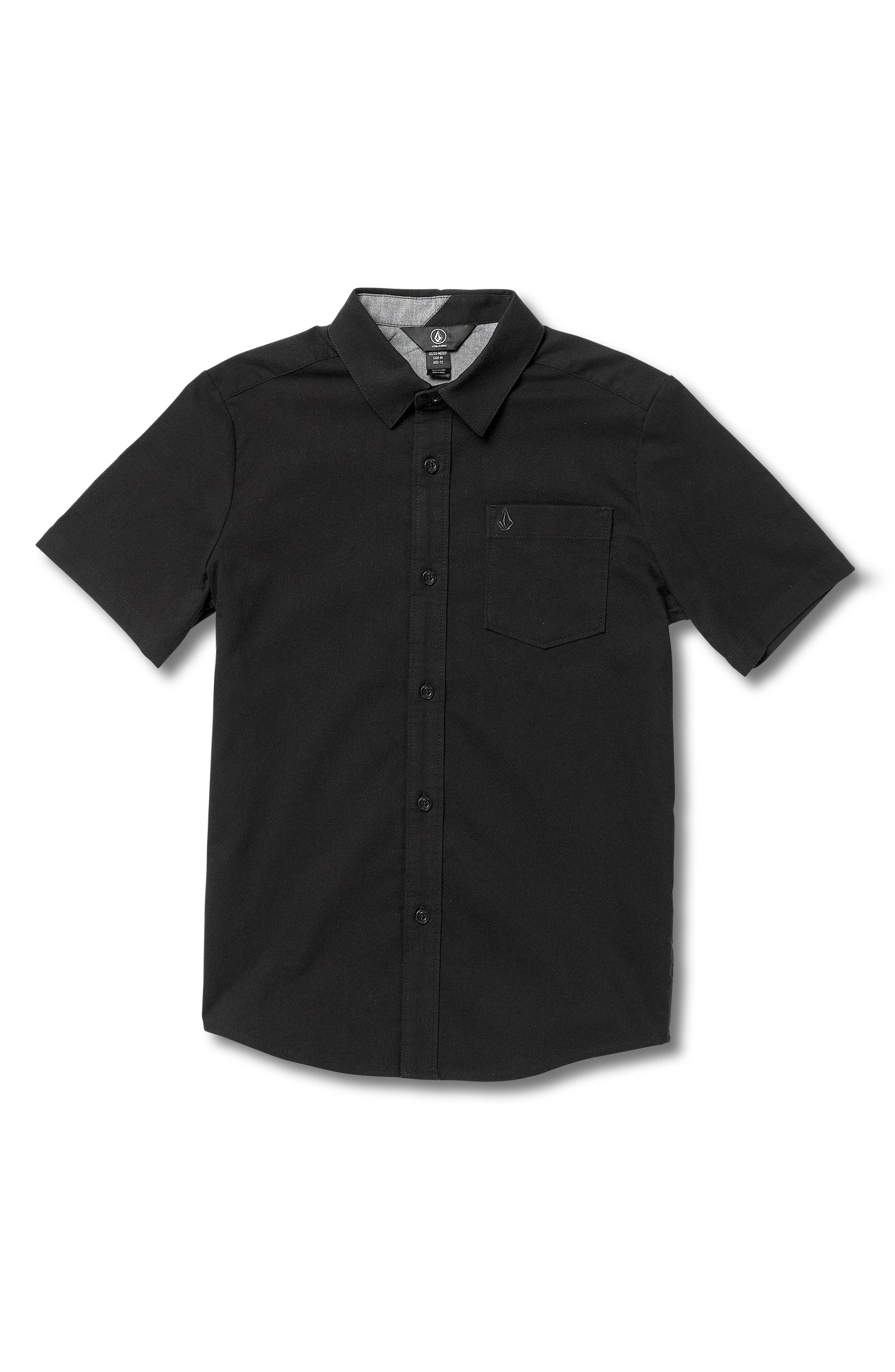 Everett Oxford Shirt,                             Main thumbnail 1, color,                             001