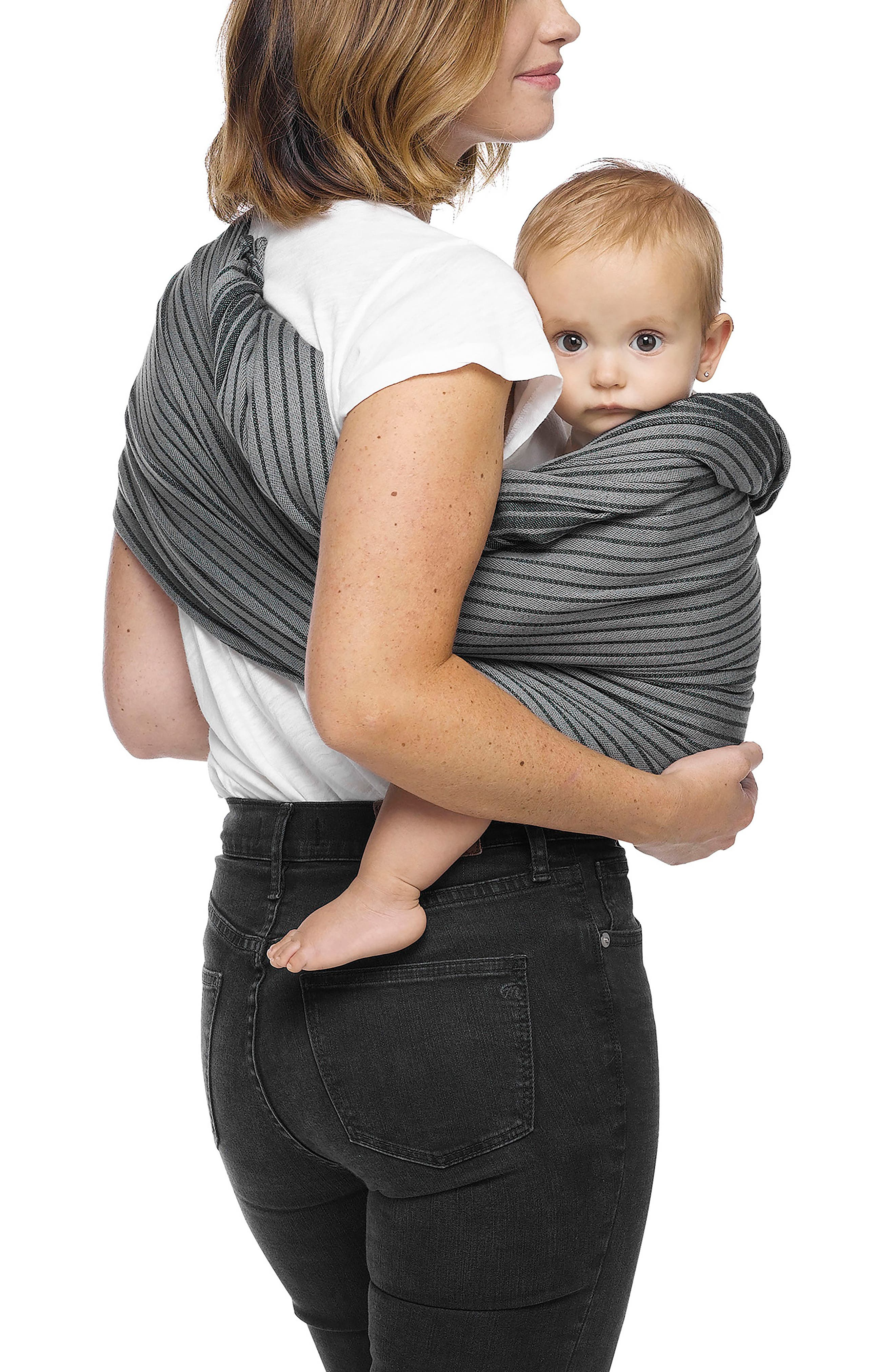 Baby Sling Carrier,                             Alternate thumbnail 3, color,                             JET RIBBONS