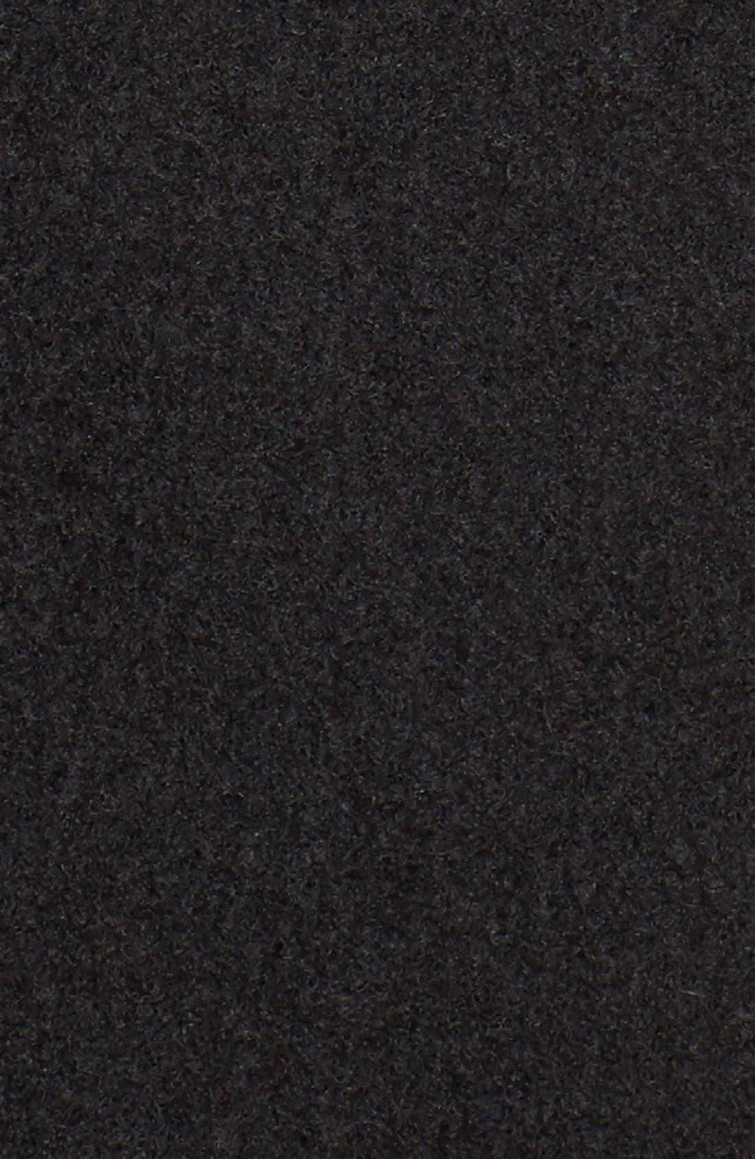 Fit & Flare Military Coat,                             Alternate thumbnail 2, color,                             001